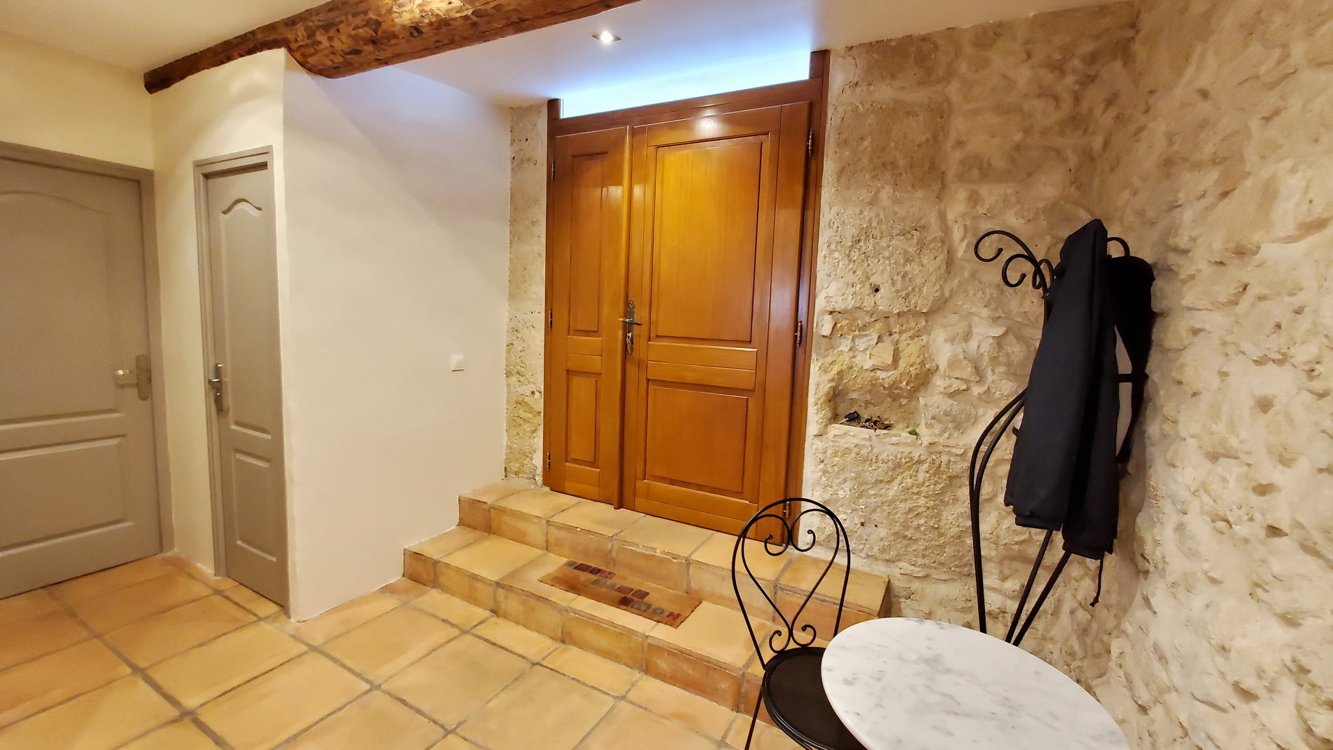 Beautiful stone property with garage and small garden