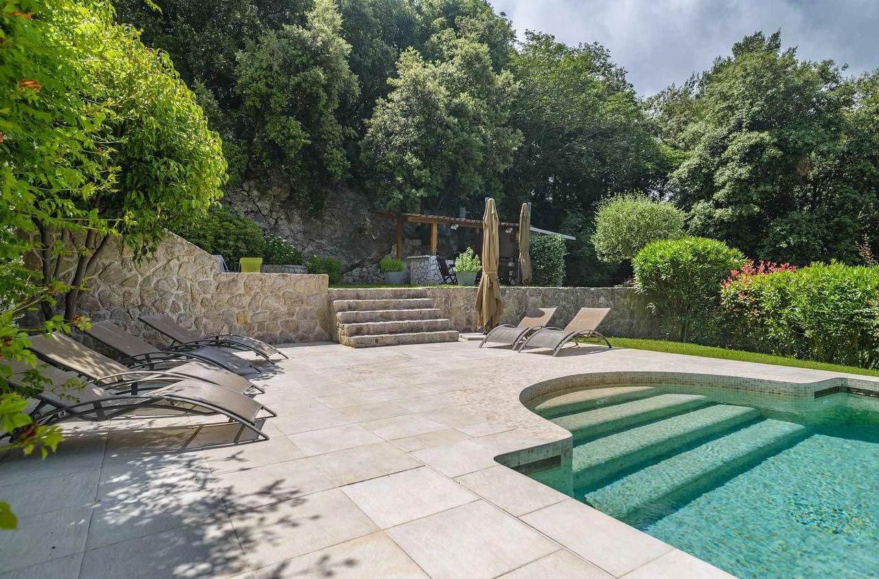 Villa med pool - Eze Grande Corniche