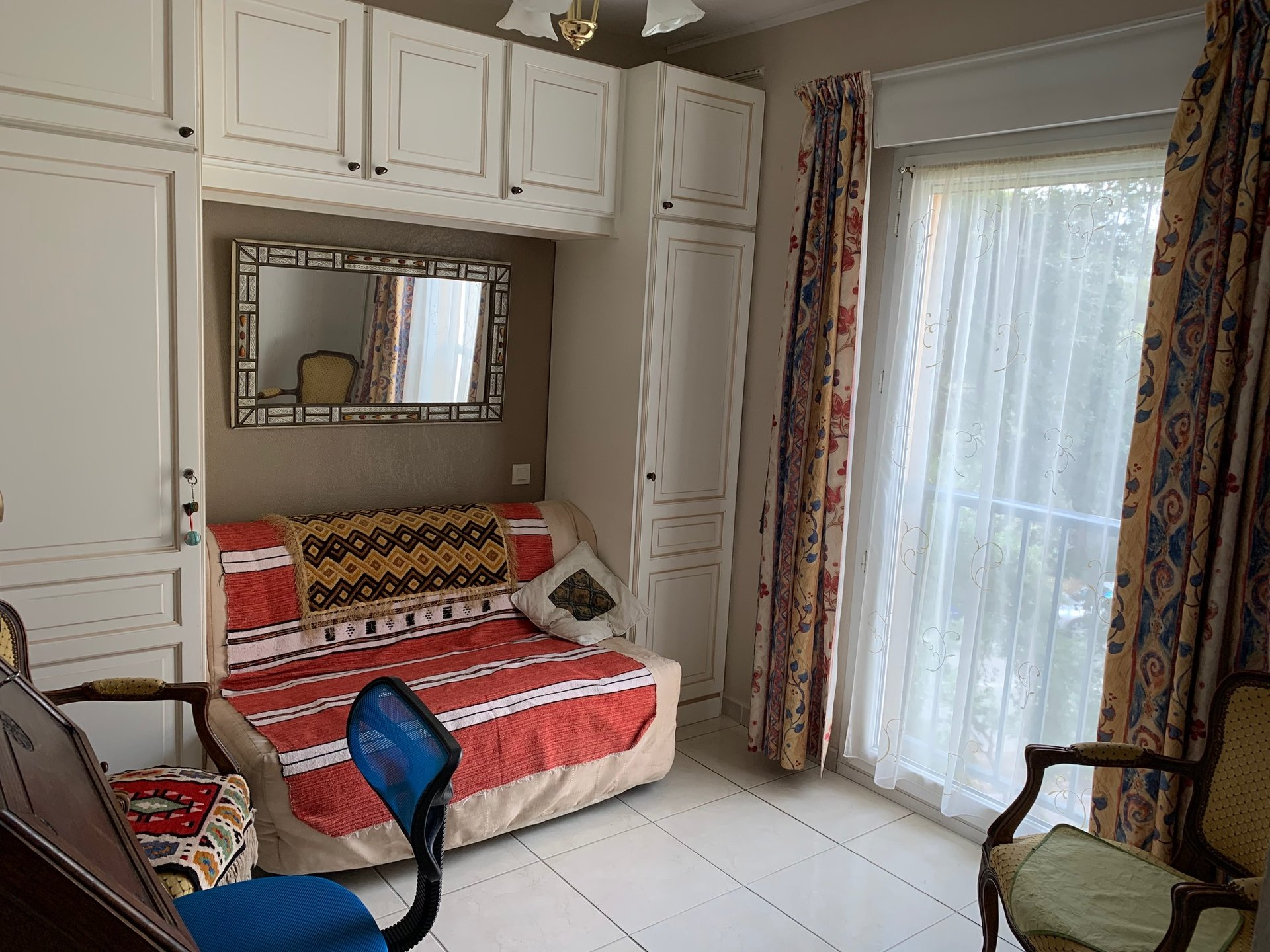 3-room apartment with sea view in Saint Aygulf