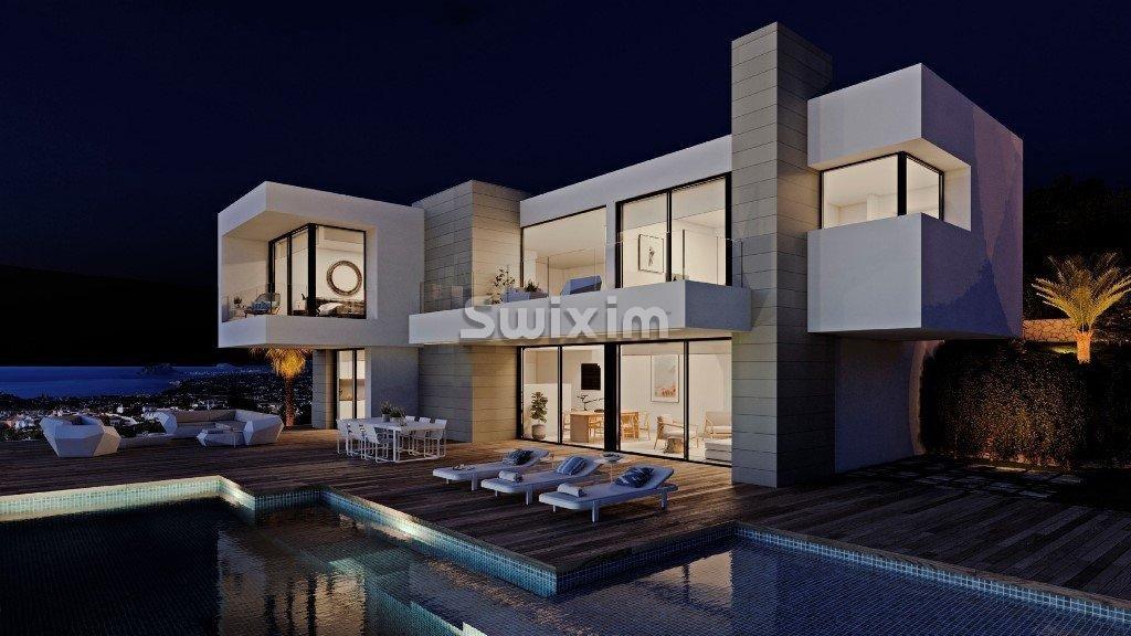 Villa de luxe NARIO vue sur la mer