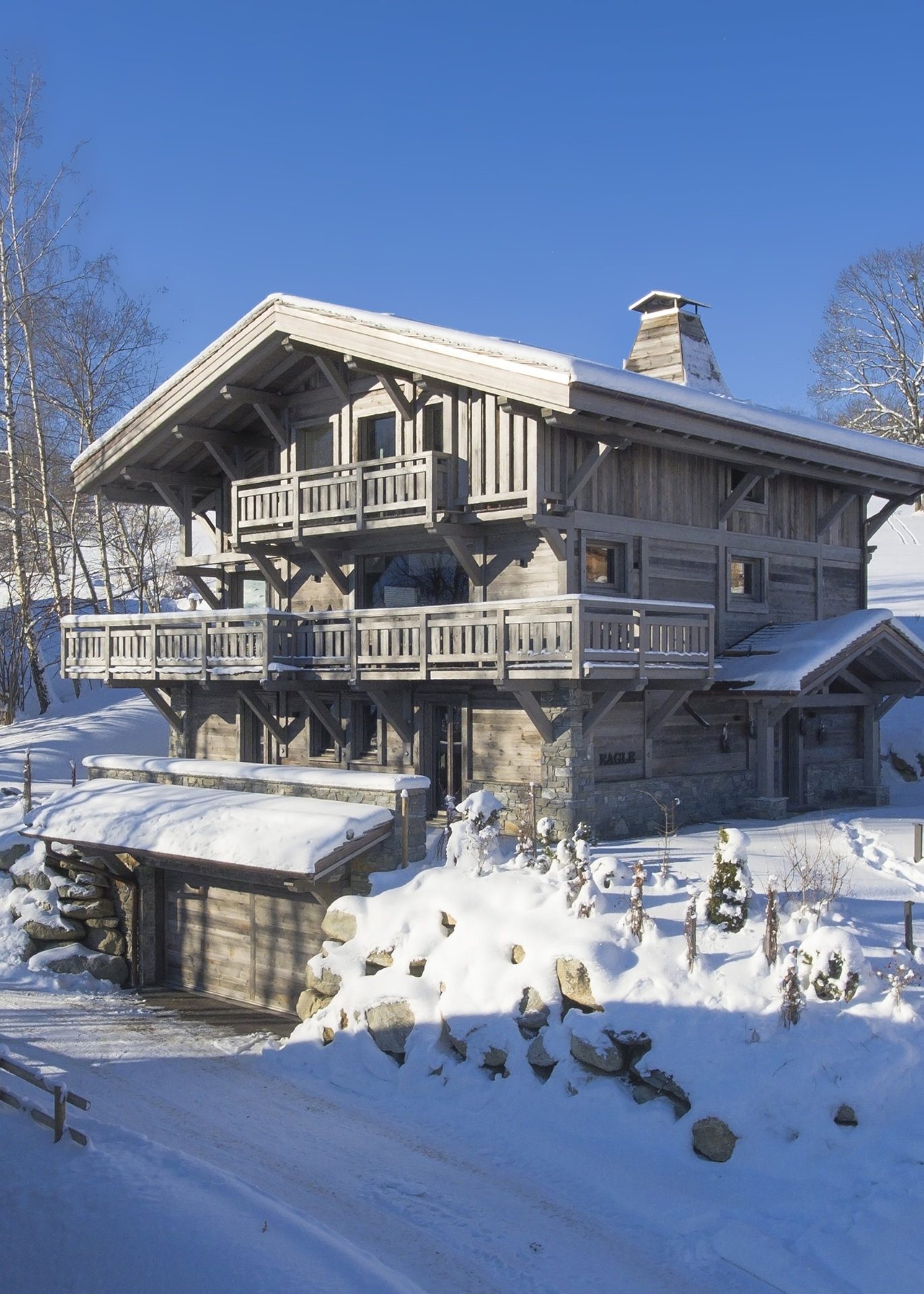 Seasonal rental Chalet - Combloux
