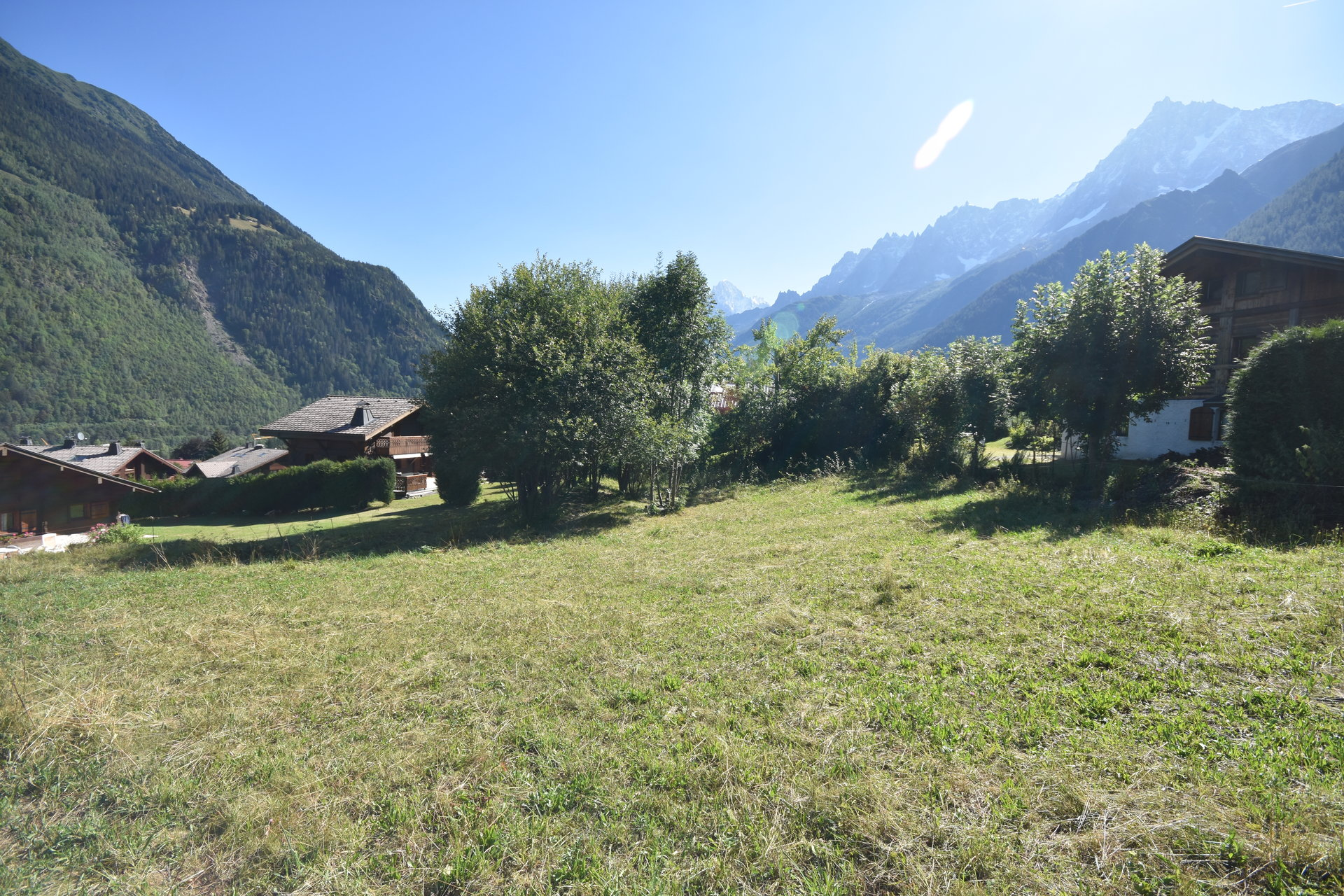Sale Building land - Les Houches Bellevue – Les Trabets