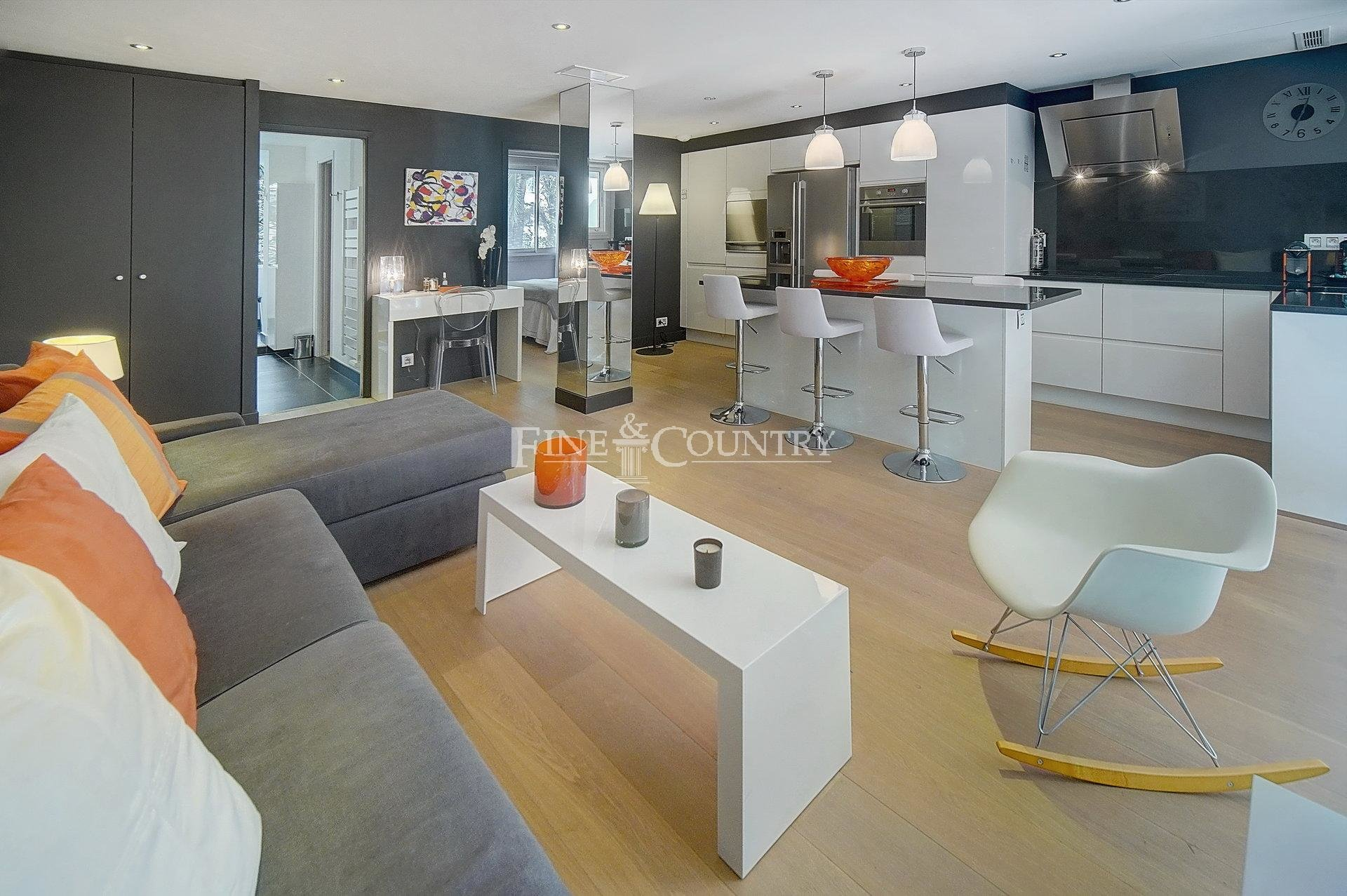 Vente Appartement 2 Pieces , Cannes, Tres Proche Banane