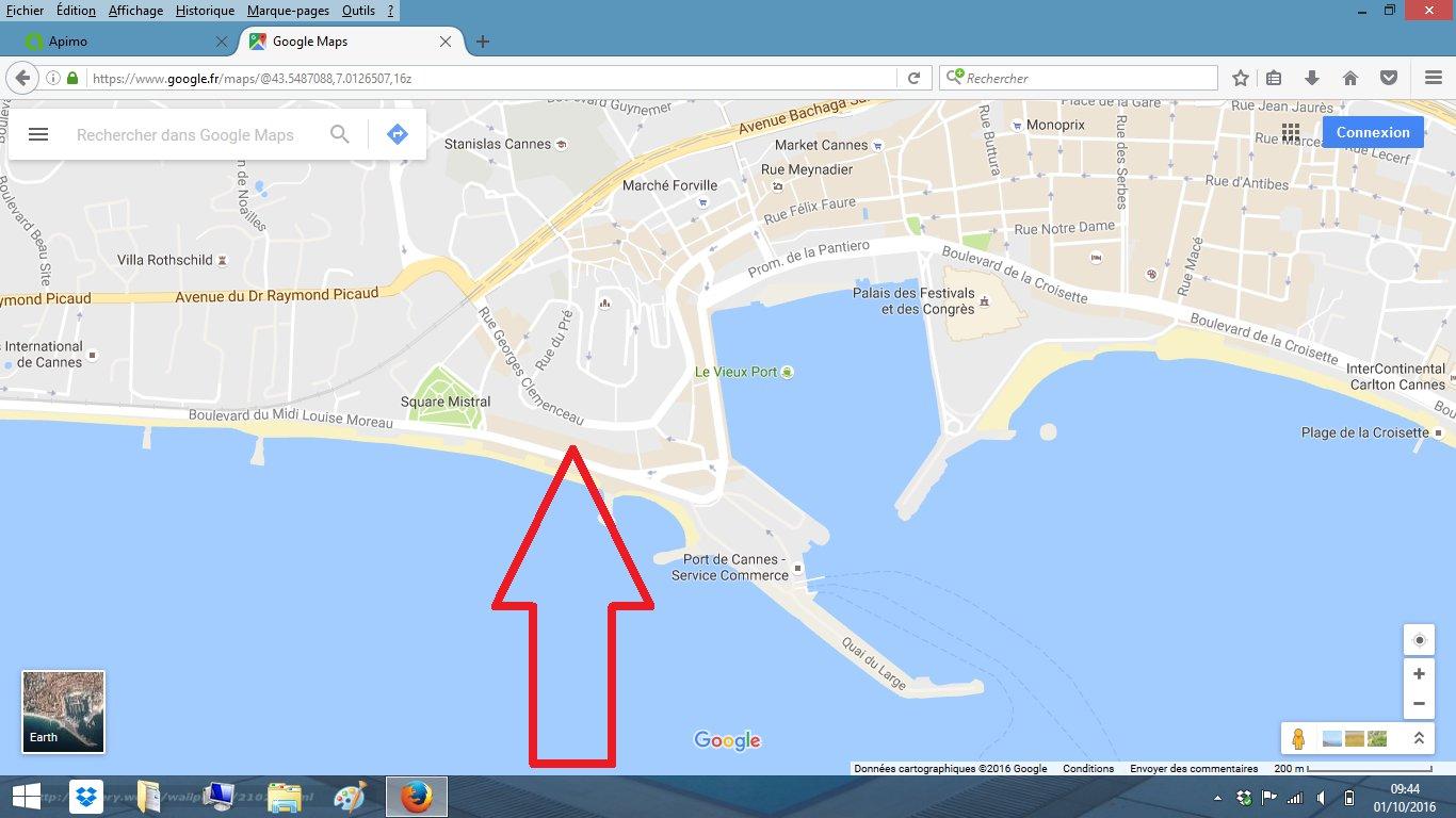 Location saisonnière Appartement - Cannes Plages du midi