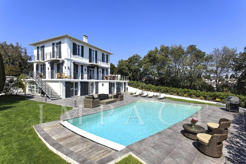 Villa contemporary Sea View to rent, Cannes