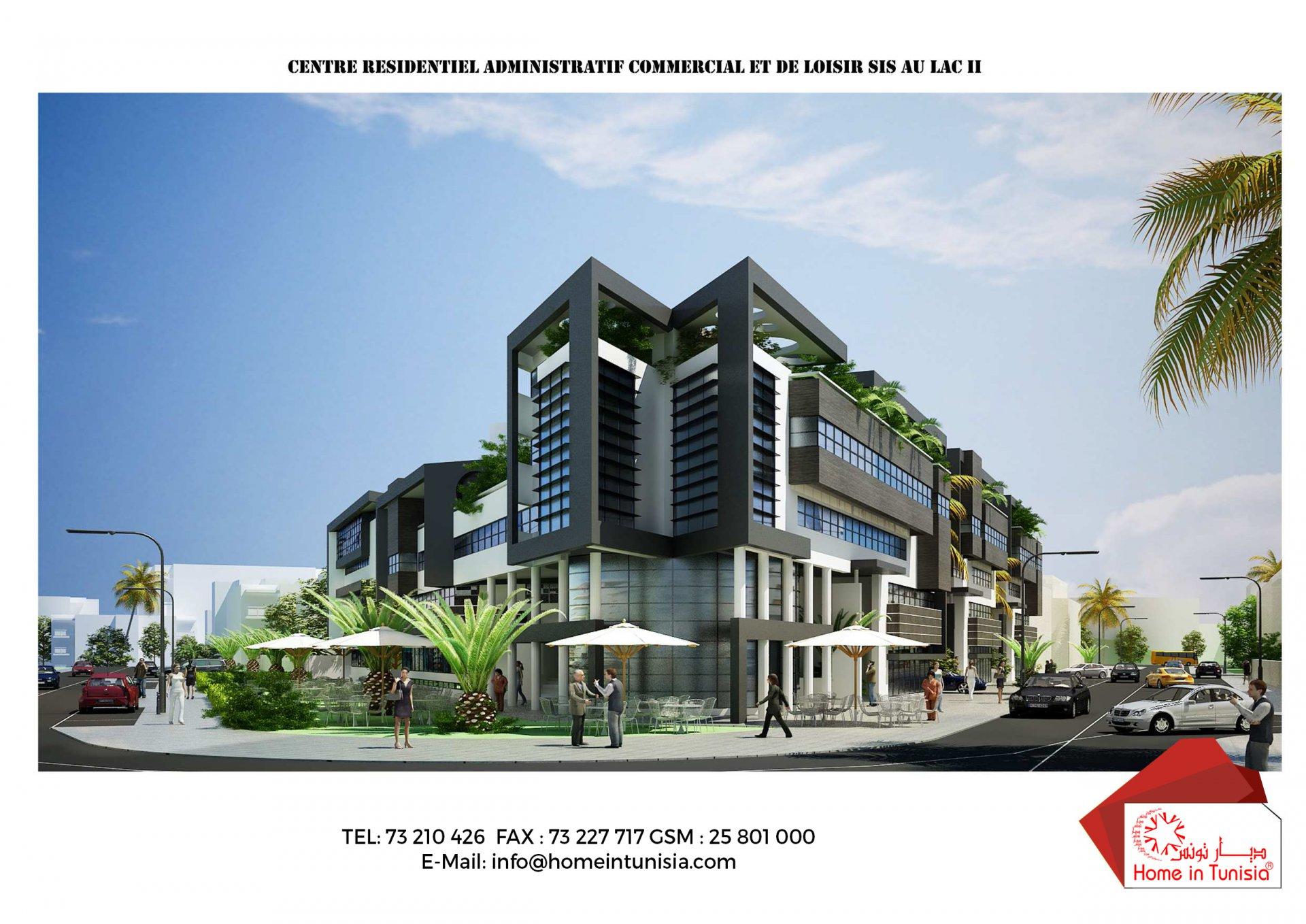 Vente Local commercial 57 m², LAC 2