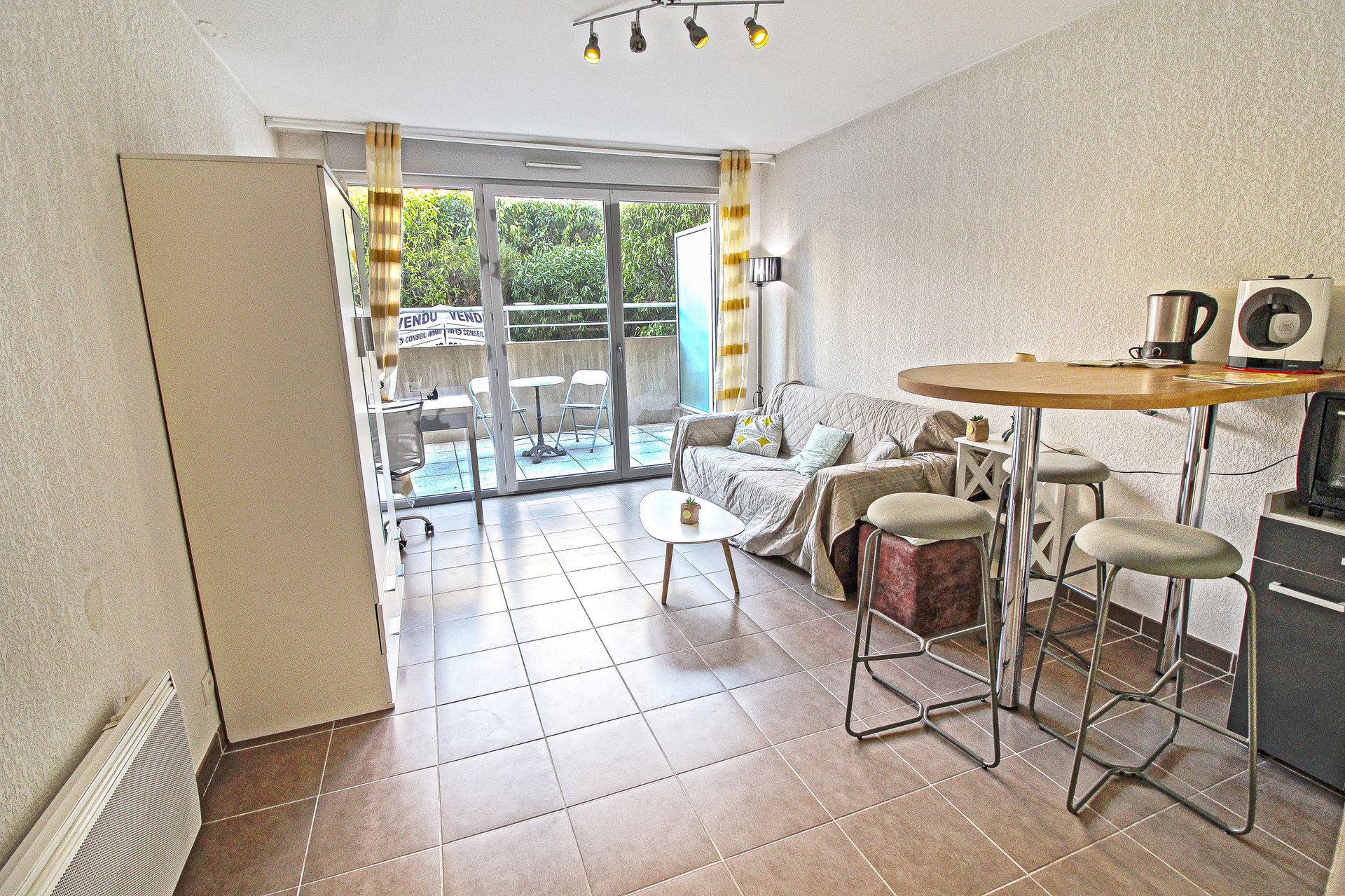 RIQUIER - STUDIO Neuf - Terrasse - Calme / vue Jardin - 140.000 €
