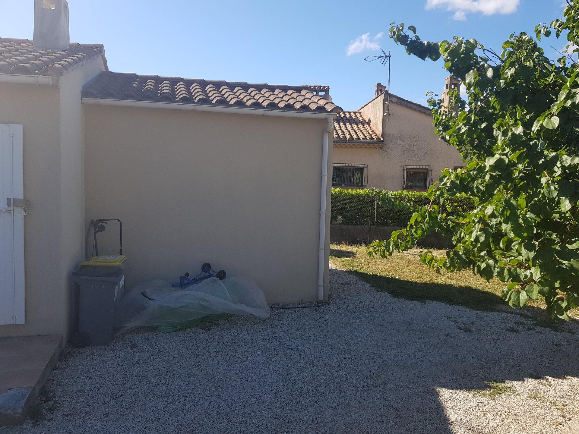Mallemort villa T4 jardin