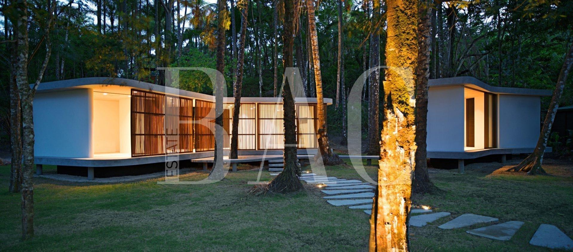maison moderne et luxueuse sur l'ile de Boipeba Brésil
