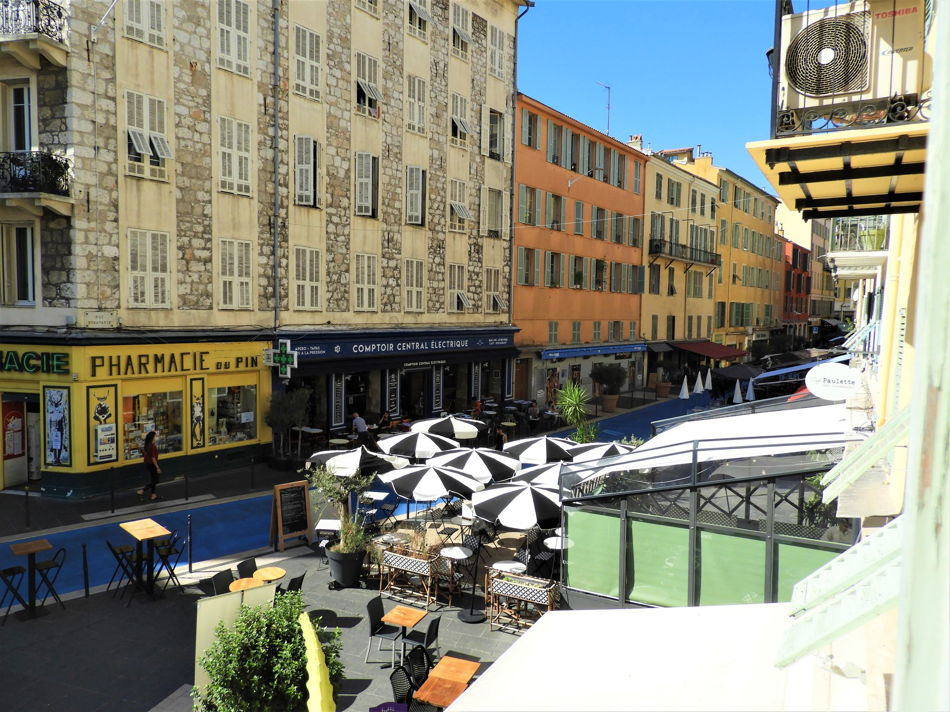 NICE PORT PLACE DU PIN - CHARMING 1 BED APART WITH BALCONY