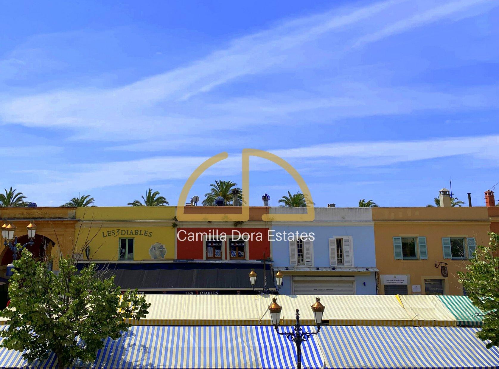 FÖRSÄLJNING Lägenhet 2 Rum 49M² Nice Gamla Stan Cours Saleya Renoverad