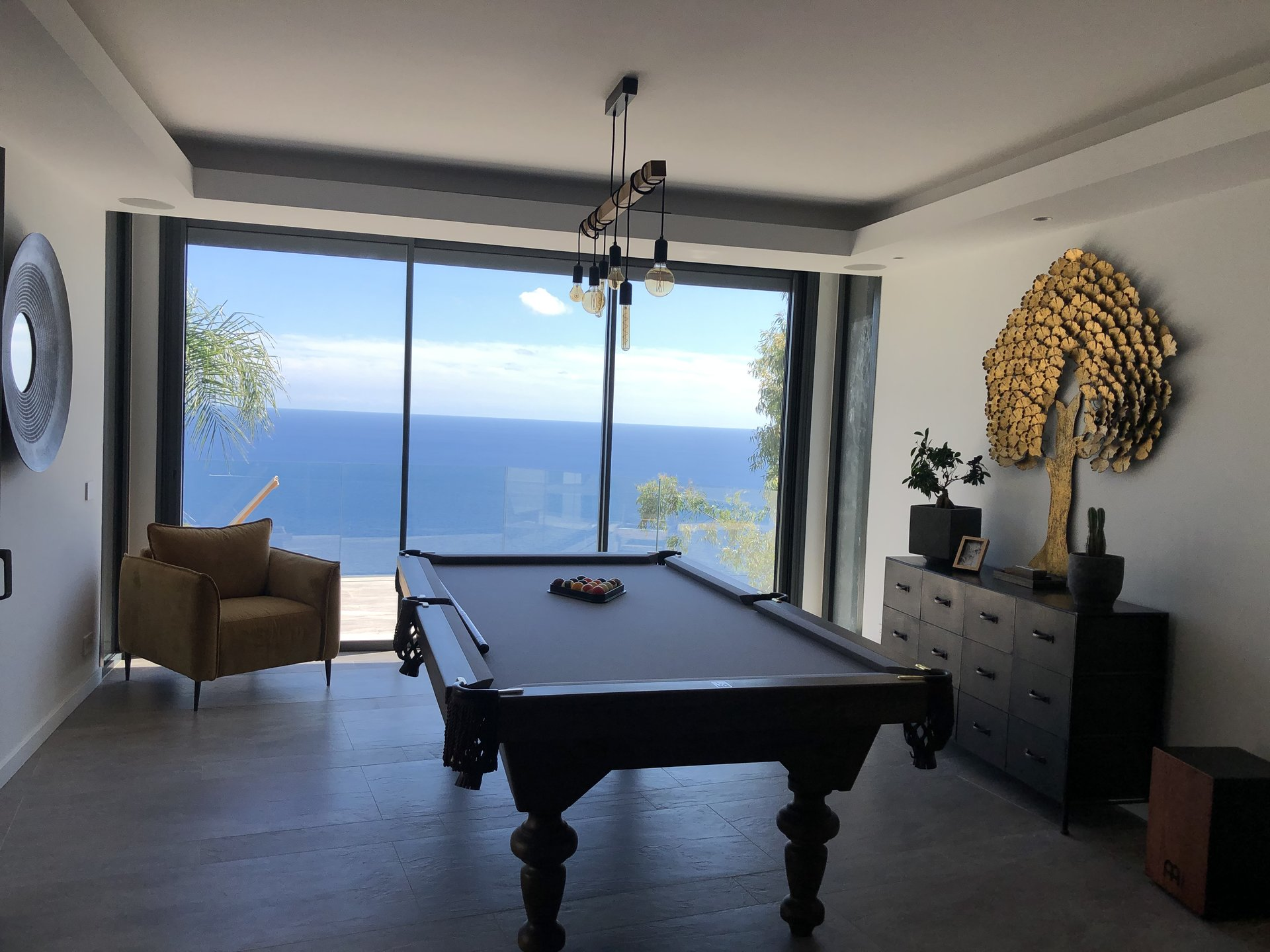 Eze - Luxurious villa with panoramic sea view