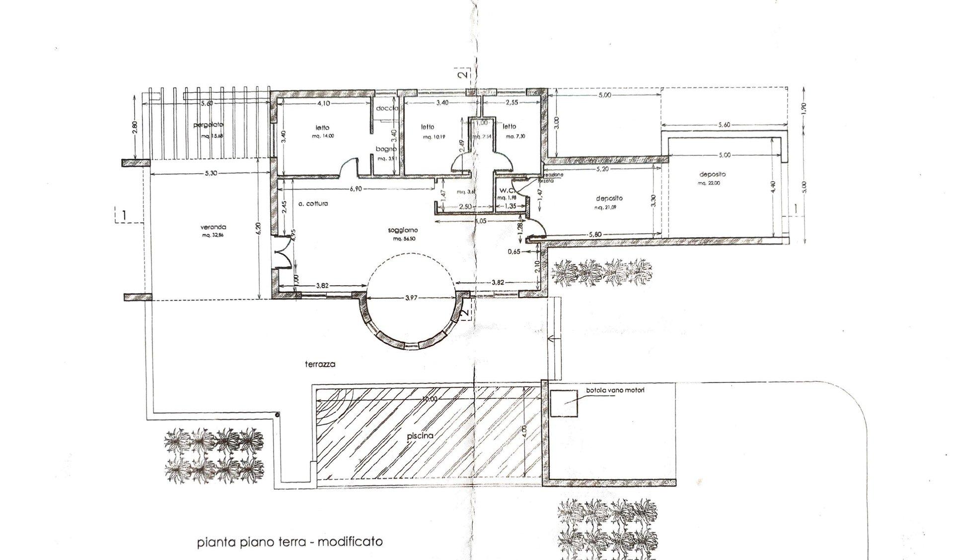 Moderne Villa, 3 Schlafzimmer mit privatem Pool und Garten