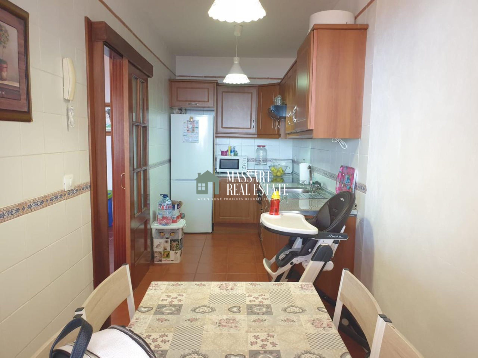 Fully furnished 90 m2 apartment located in a quiet area of Granadilla.