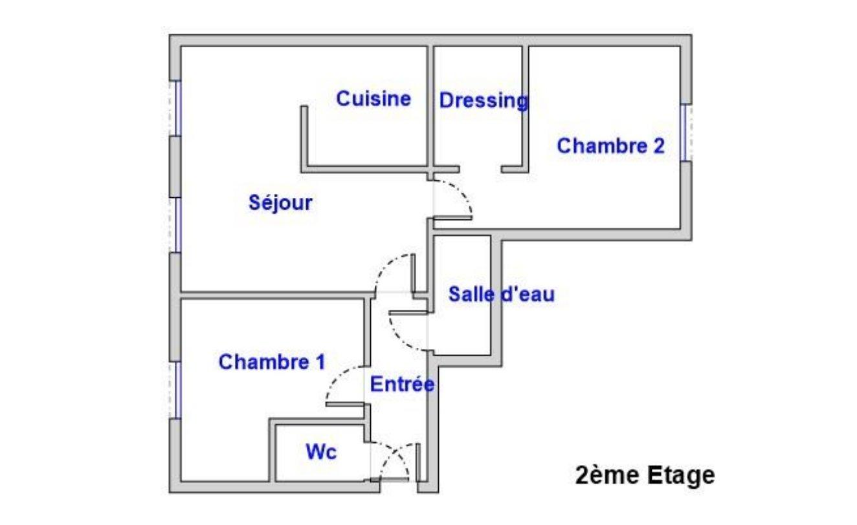 Achat Appartement, Surface de 50.85 m²/ Total carrez : 50.15 m², 3 pièces, Paris 12ème (75012)