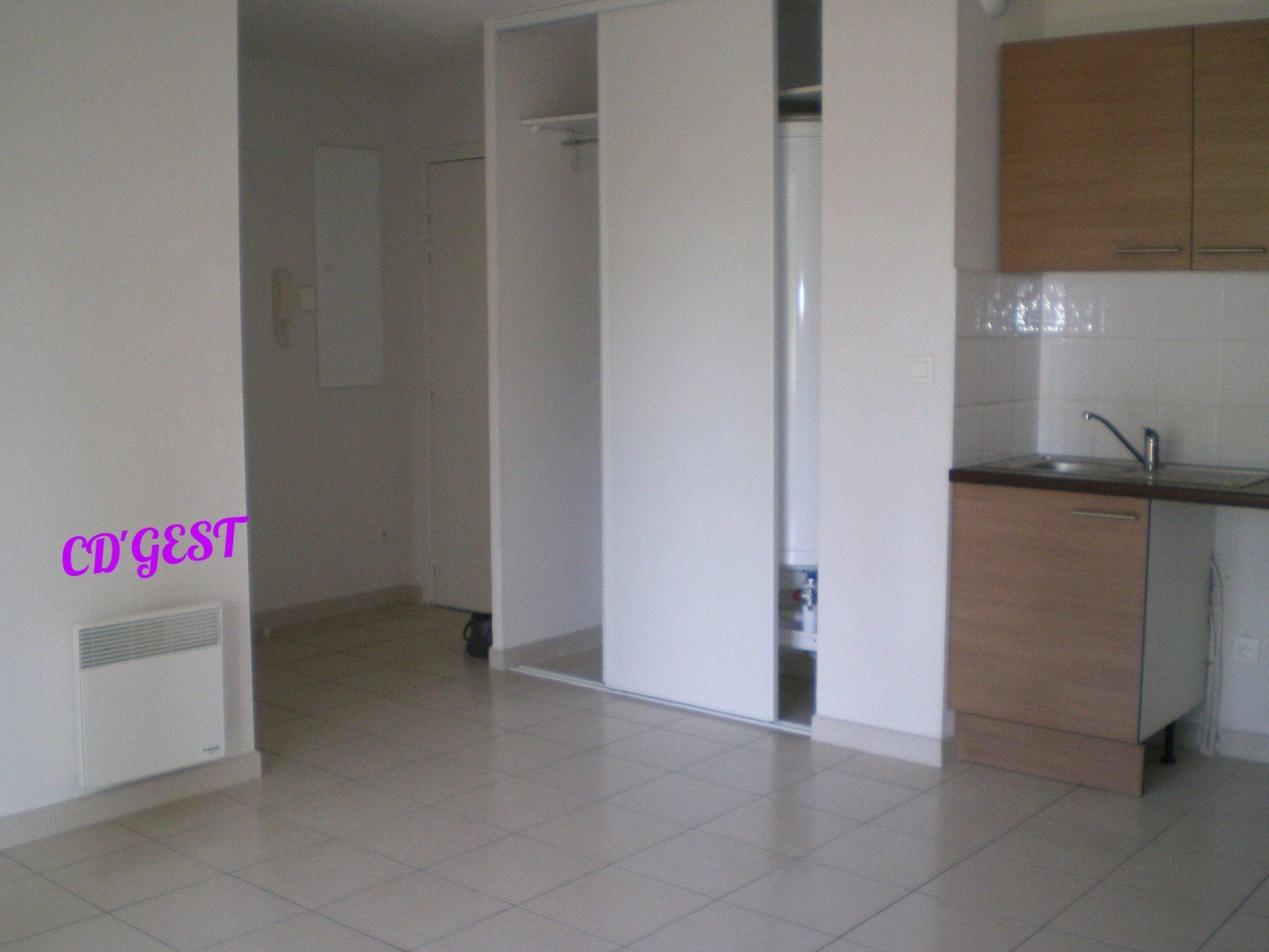 Appartement T3 : 53.69 m² en RDC