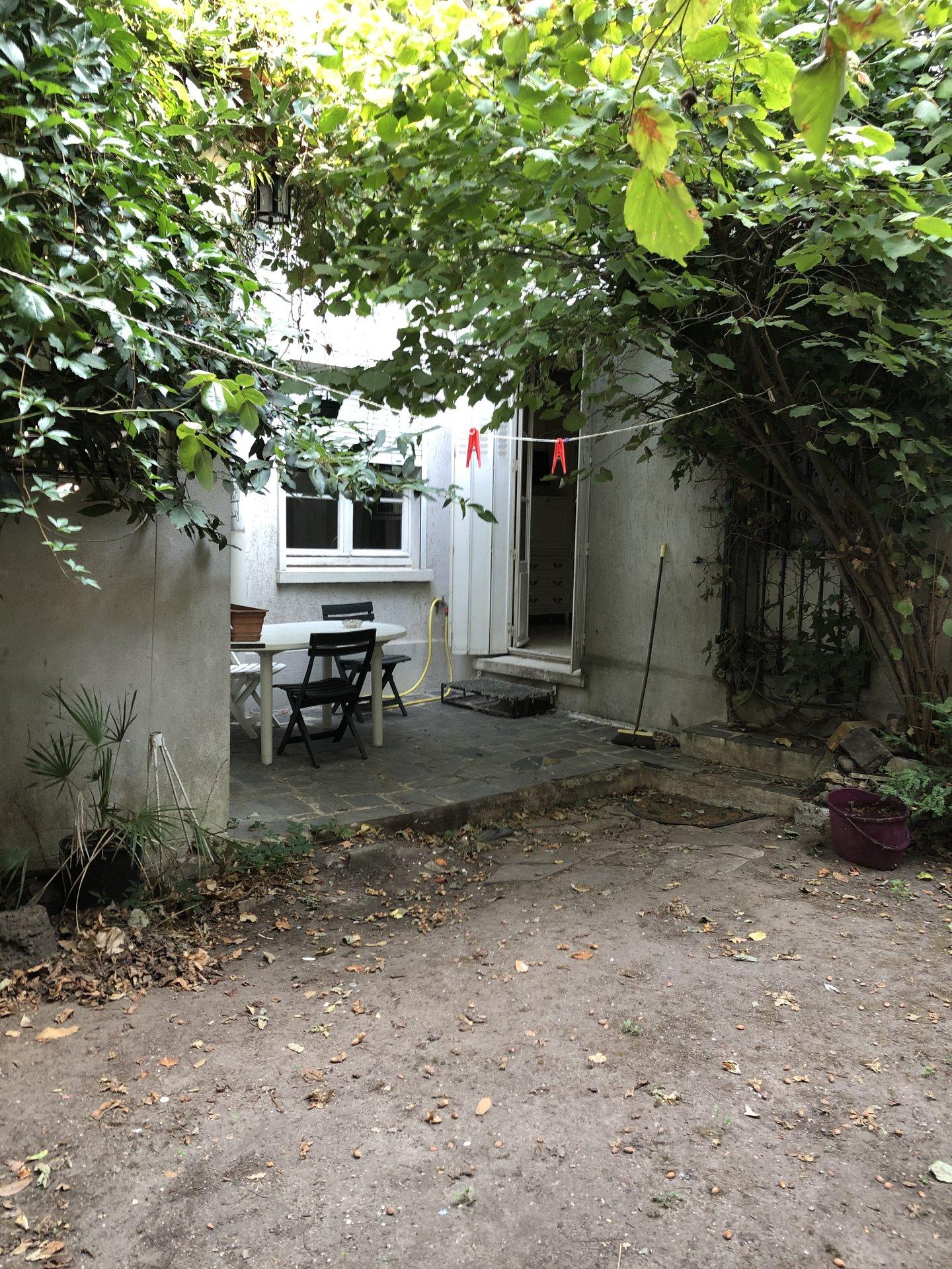 ASNIERES-Quartier Philosophes -Rez de jardin