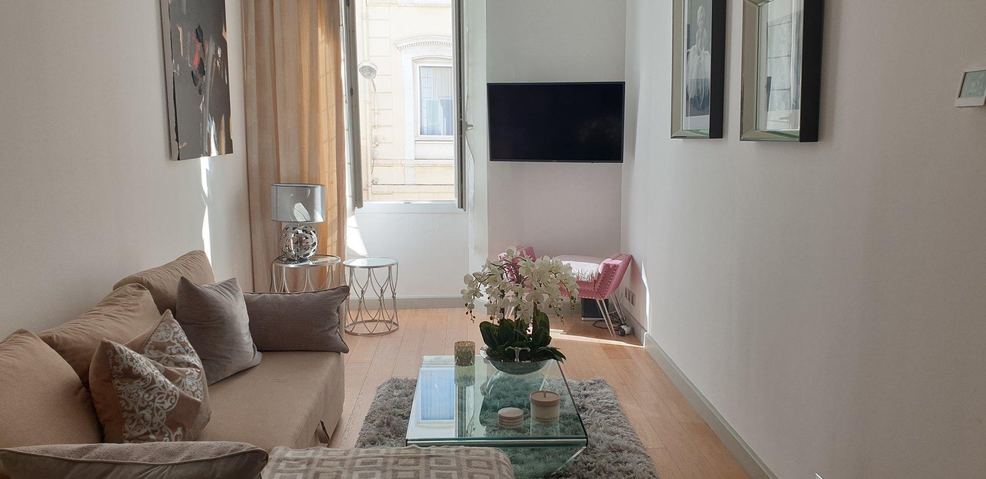 appartement 3 pièces centre Cannes