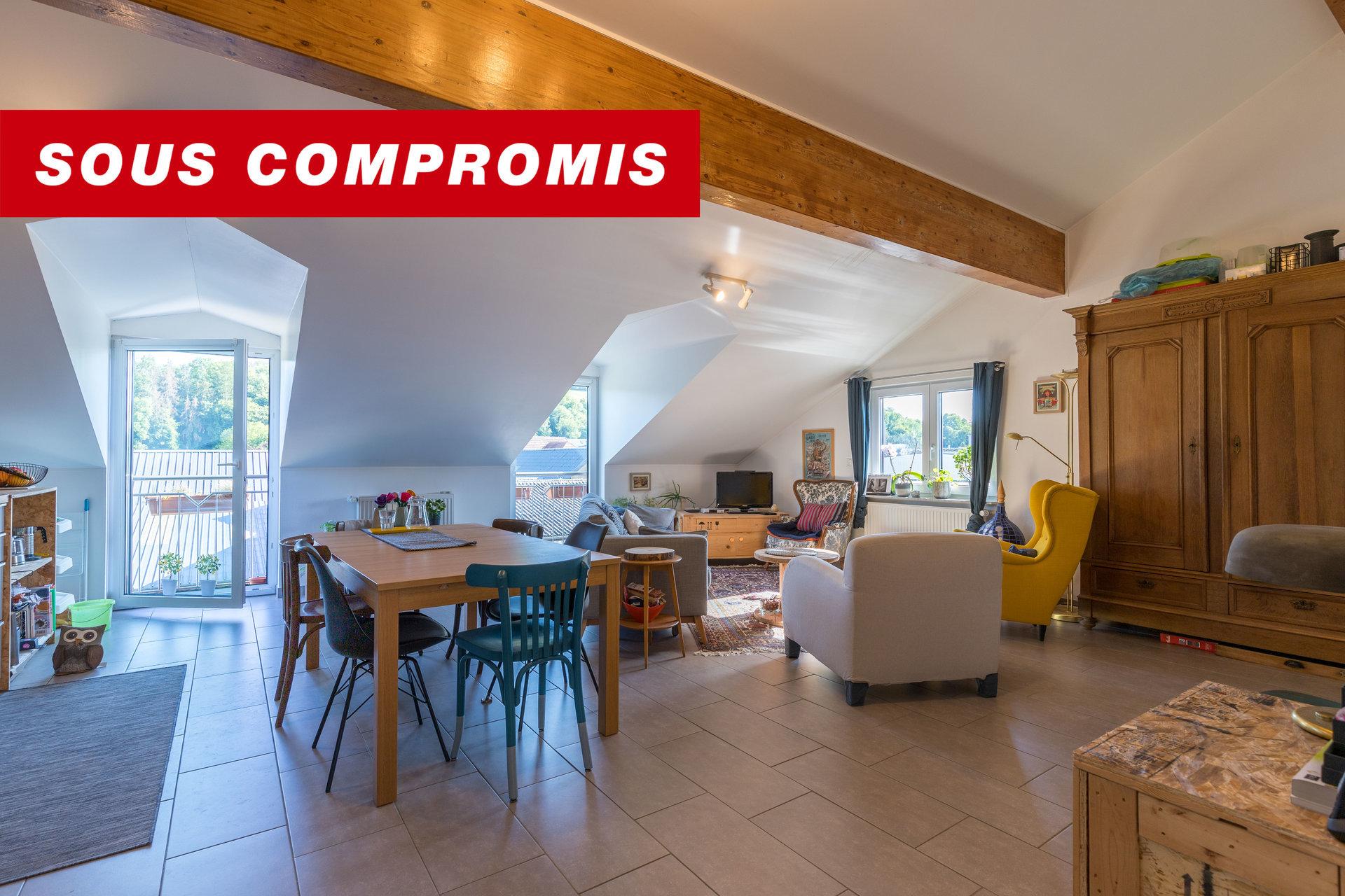 SOUS COMPROMIS - Appartement avec 2 chambres à coucher à Diekirch