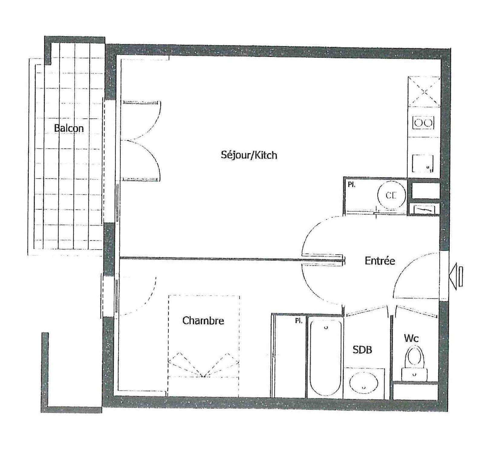 LOT de 2 Appartements de type T2 - 31200 TOULOUSE