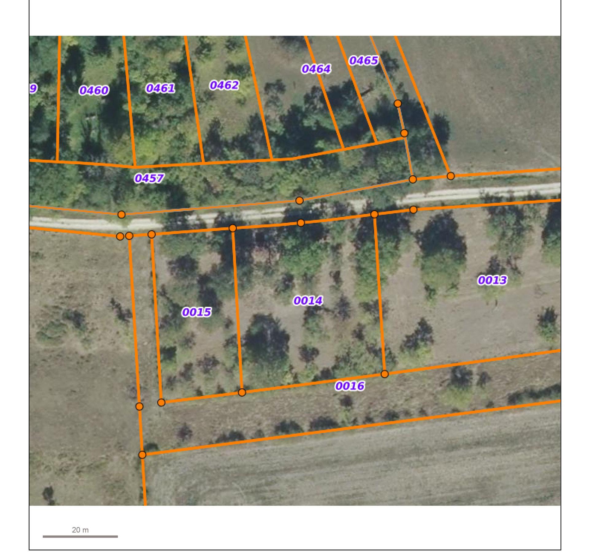 Sale Not constructible land - Rancourt