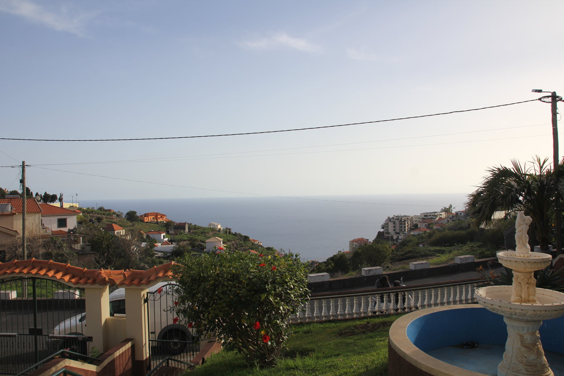 Large traditional house with panoramic ocean views