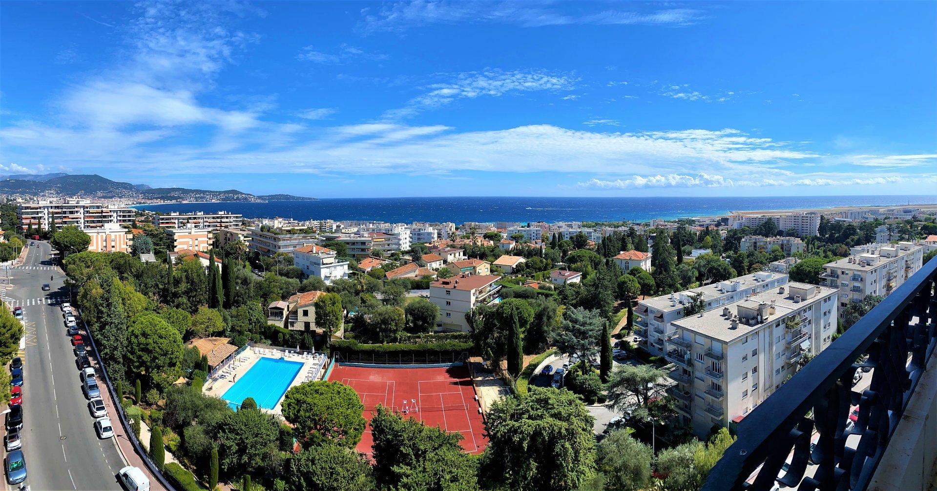 Nice Napoléon III - 3/4P 112m² + terrasse 26m²