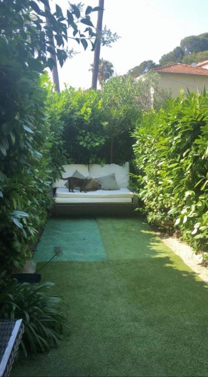 Beautiful 1 br appartment in St Jean Cap Ferrat with the garden