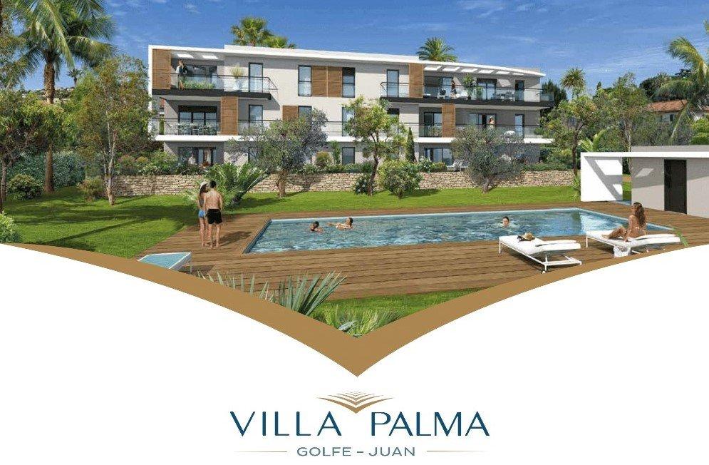 Appartement proche de la mer avec piscine et 2 parkings - Golf Juan
