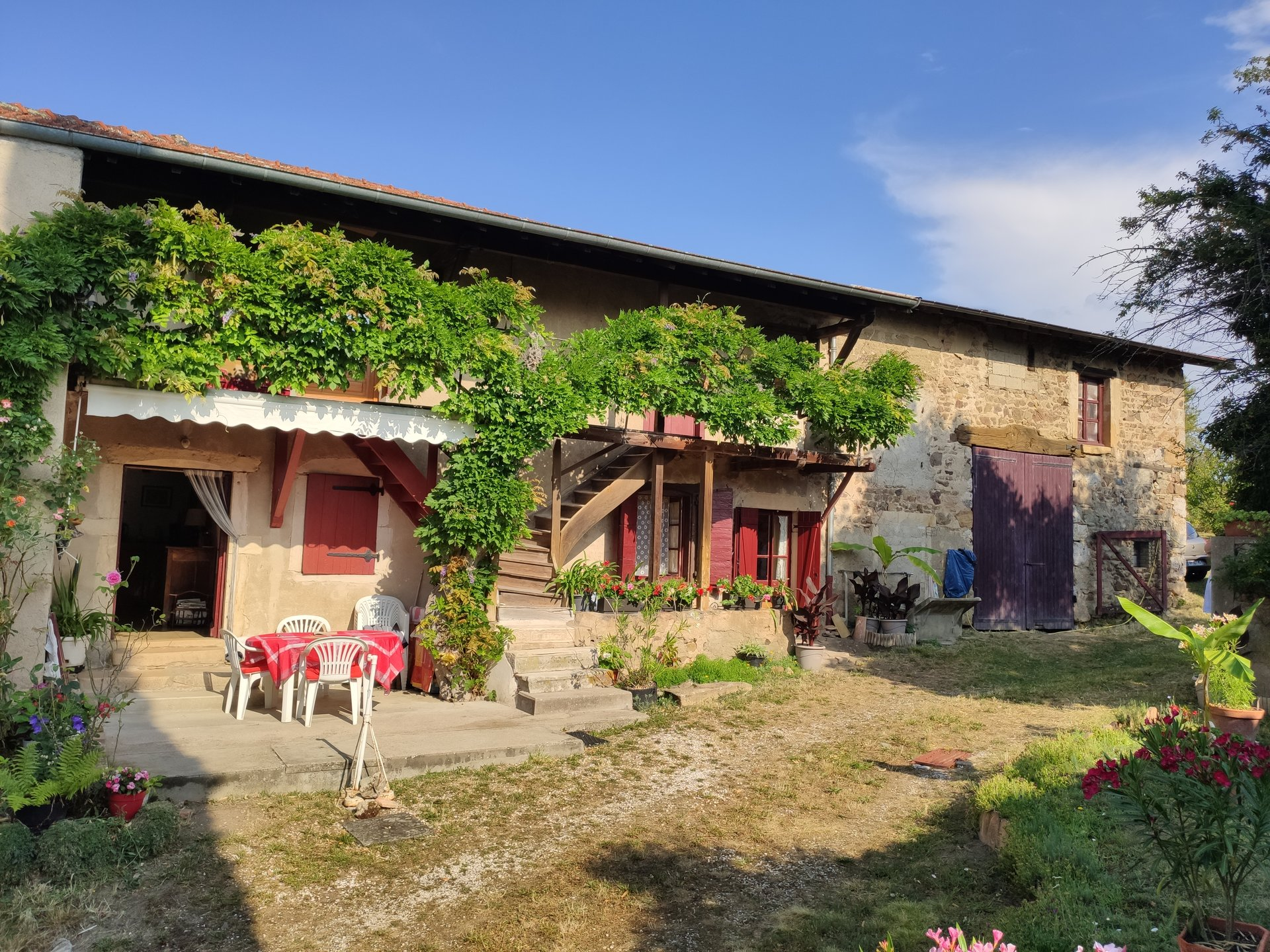 Maison ancienne 130 m² / 1700 m² terrain