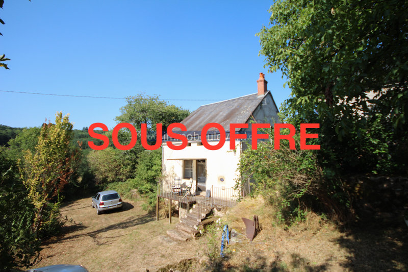 House with barn for sale near Anost, Morvan, Burgundy