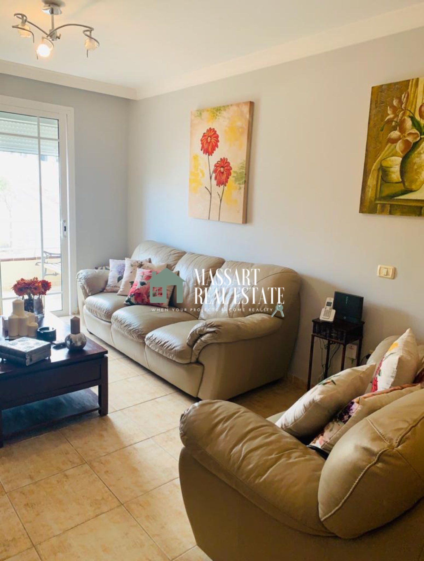 75 m2 apartment fully furnished and located in a quiet and central area of San Isidro.