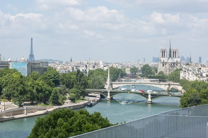 PARIS 4ème - Lisière ILE SAINT LOUIS