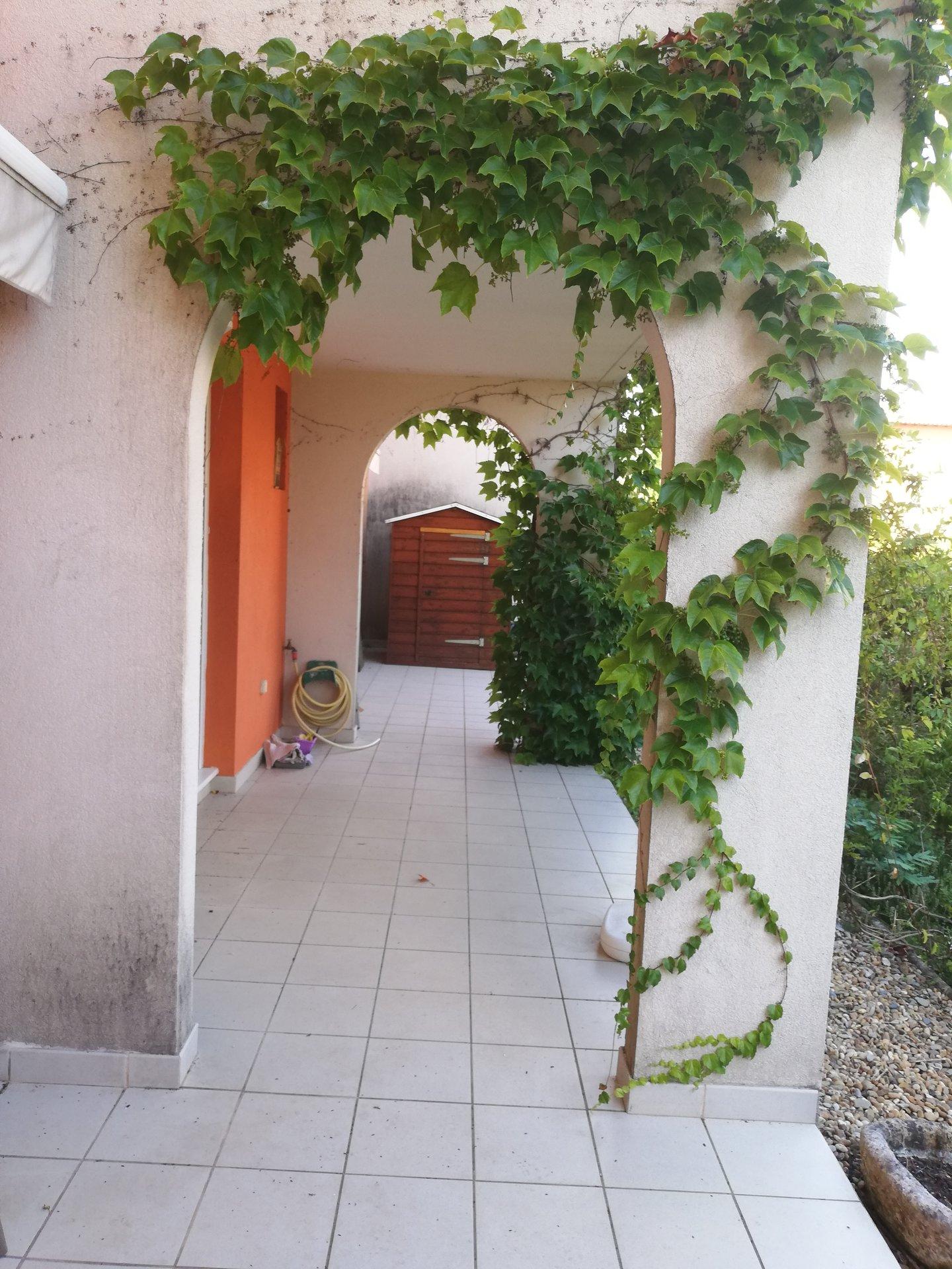Appartement T2 avec jardin centre ville