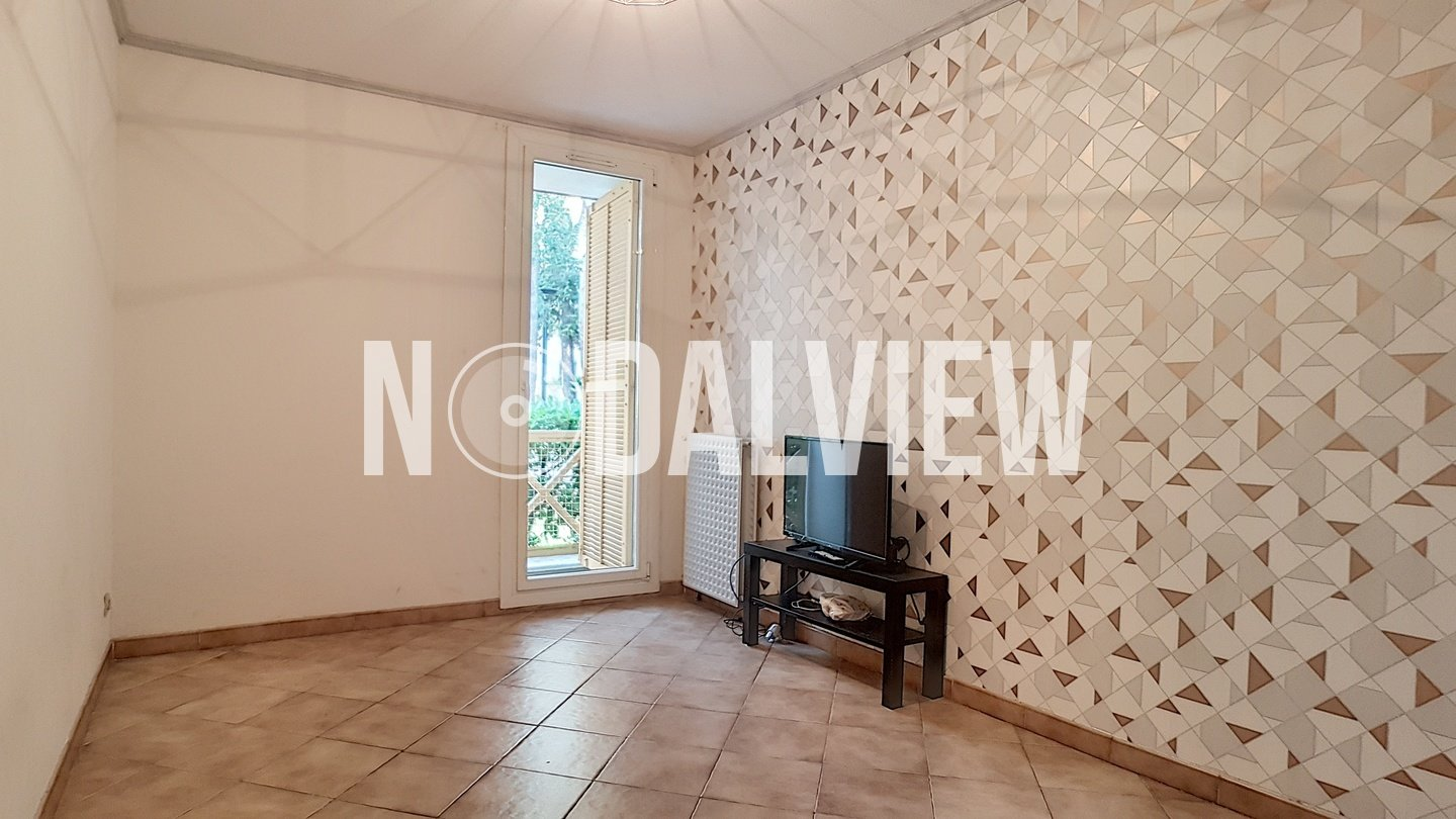 Nice apartment 3 rooms crossing in garden floor with double garage in Sophia Antipolis