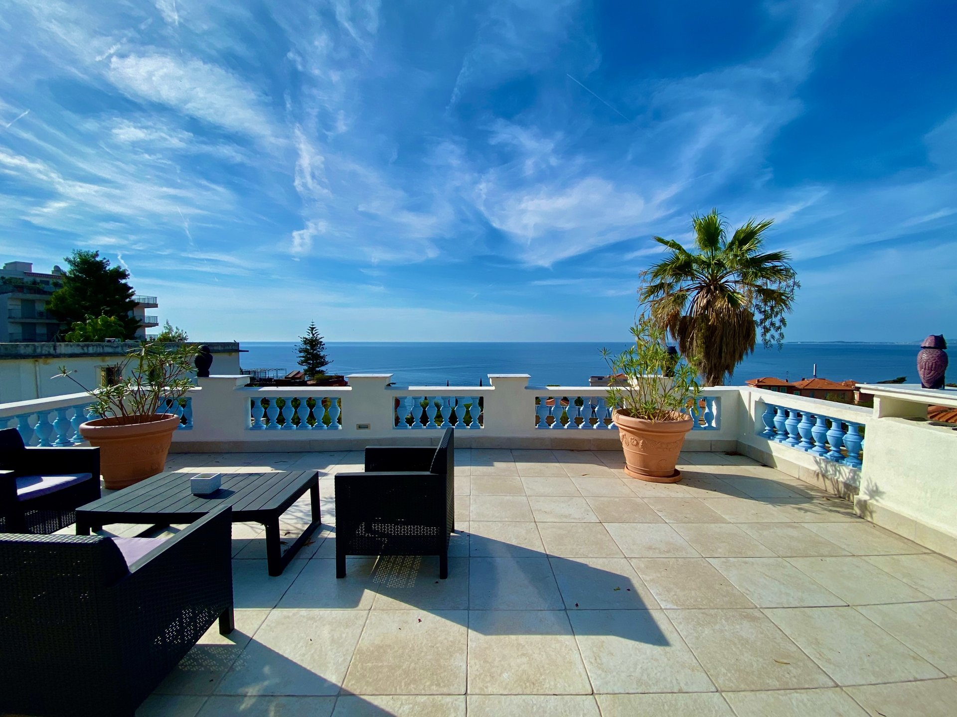 Nice Mont boron : Amazing bourgeois house renovated with Seaview