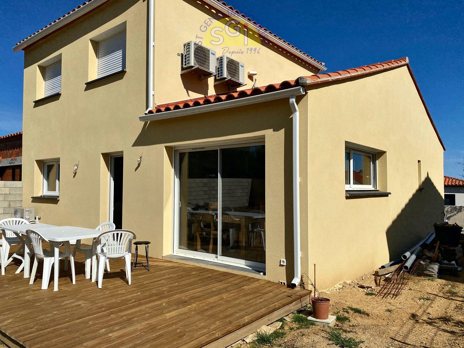 Villa 3 faces à Villelongue-dels-Monts