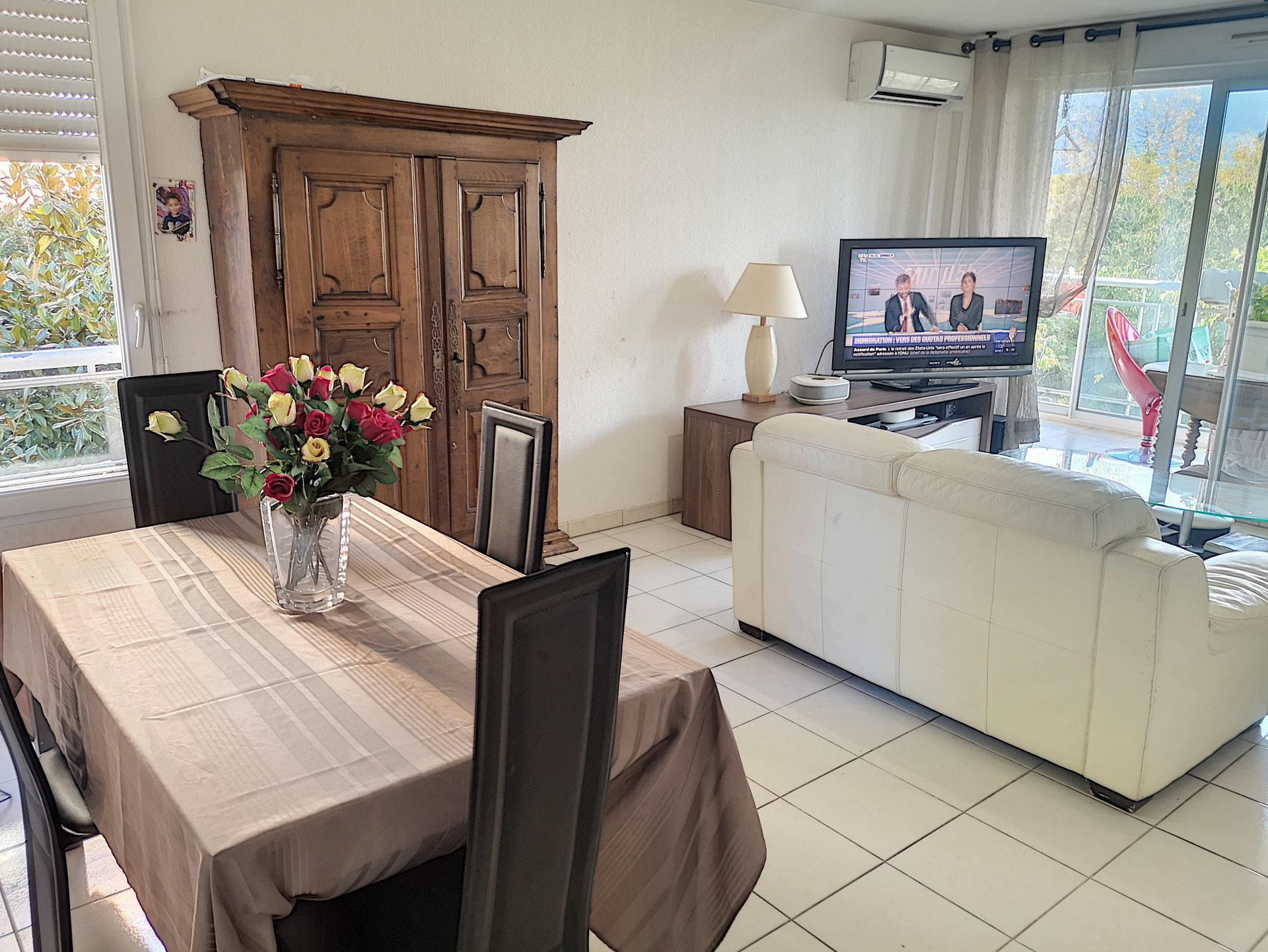 APPARTEMENT 3 PIECES 60m² + GARAGE CANNES LA BOCCA