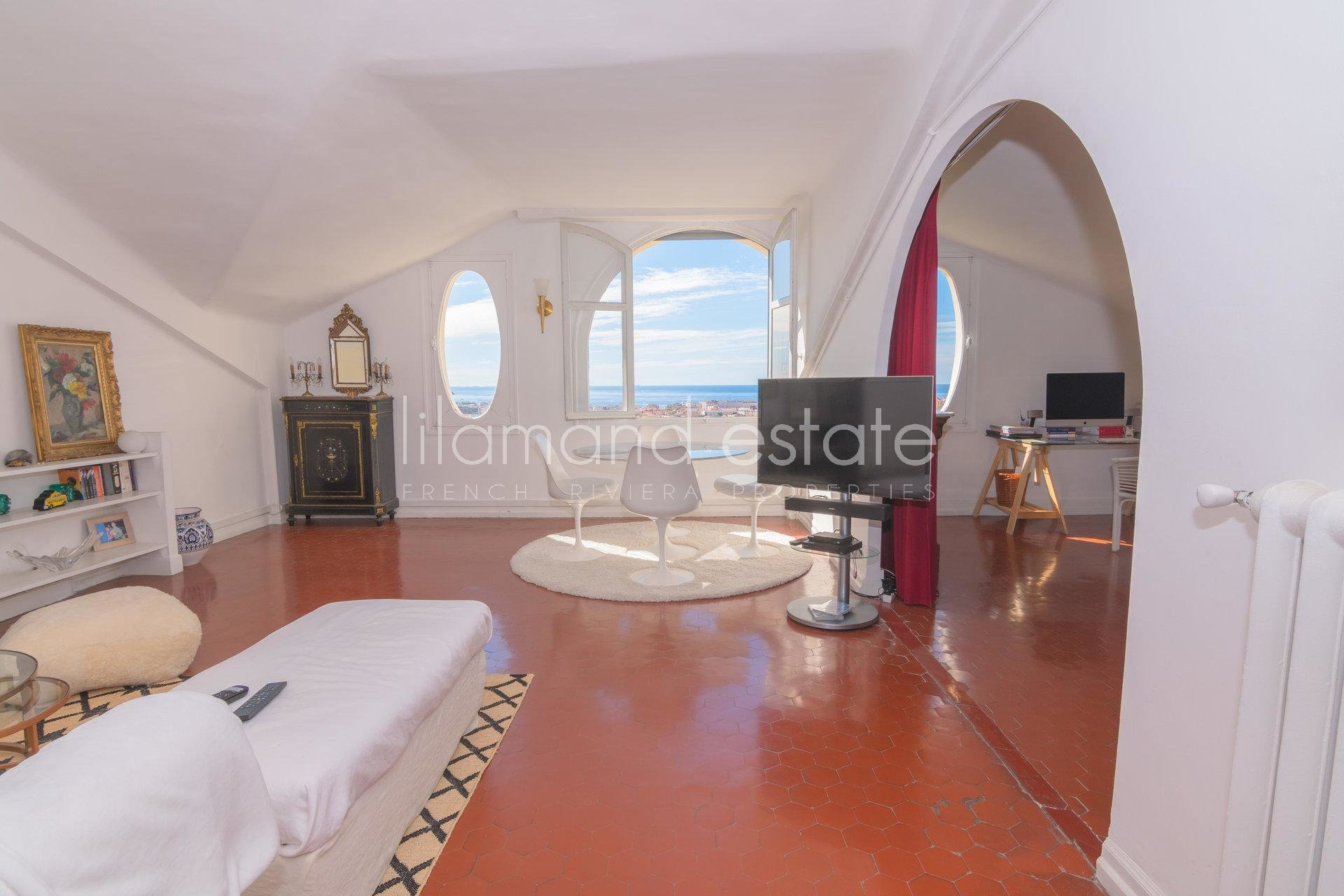4285370-CANNES - OXFORD - BOURGEOIS  - VUE MER