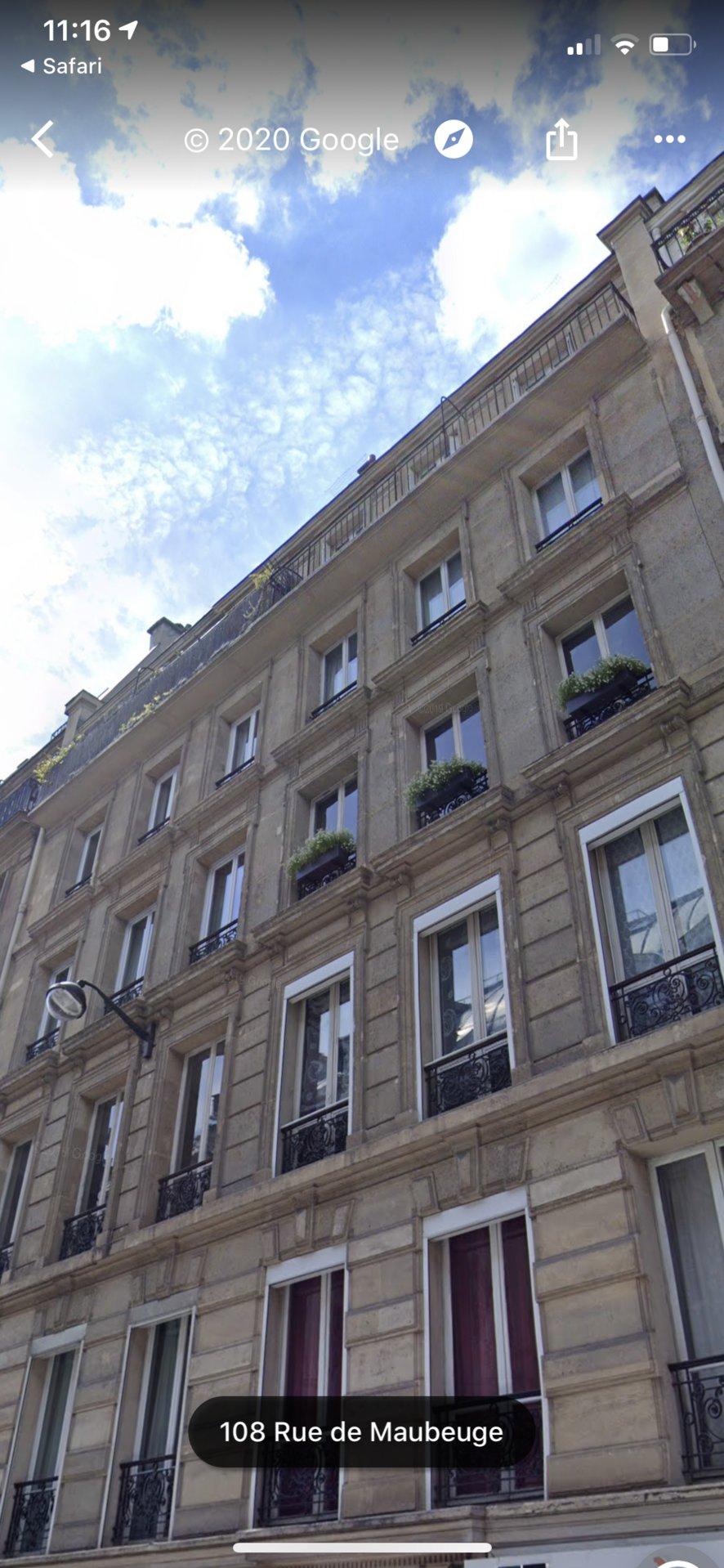 Paris Rue de Maubeuge