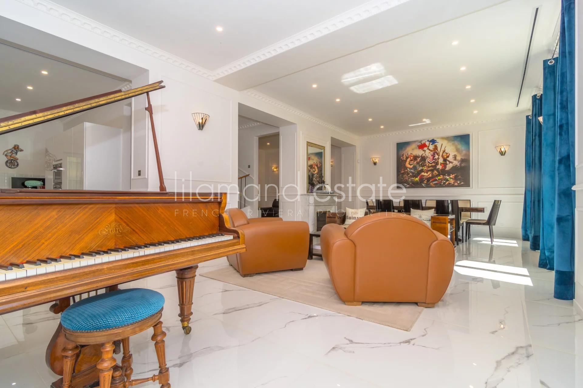 4294046-CANNES 150M RUE D'ANTIBES - HOTEL PARTICULIER BELLE EPOQUE