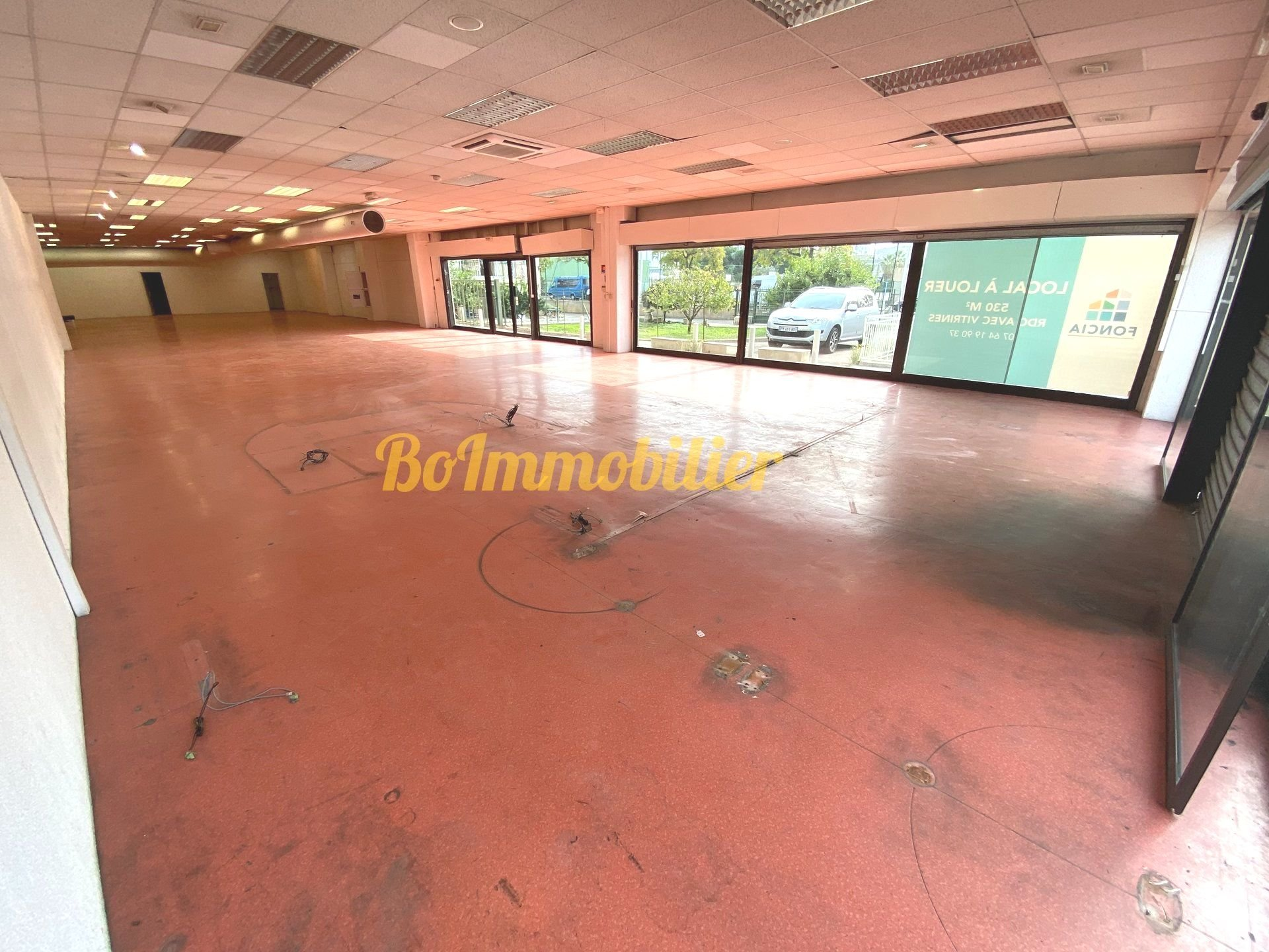 Route du Mercantour / Location Pure / Local commercial de 530m²