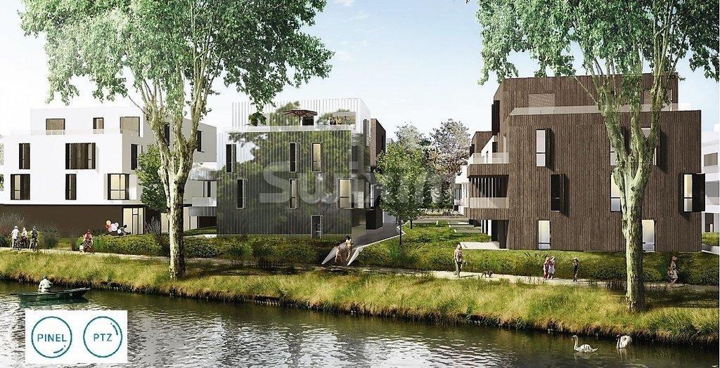 Attique Duplex 93.5m² T4  Robertsau, terrasse 37m²