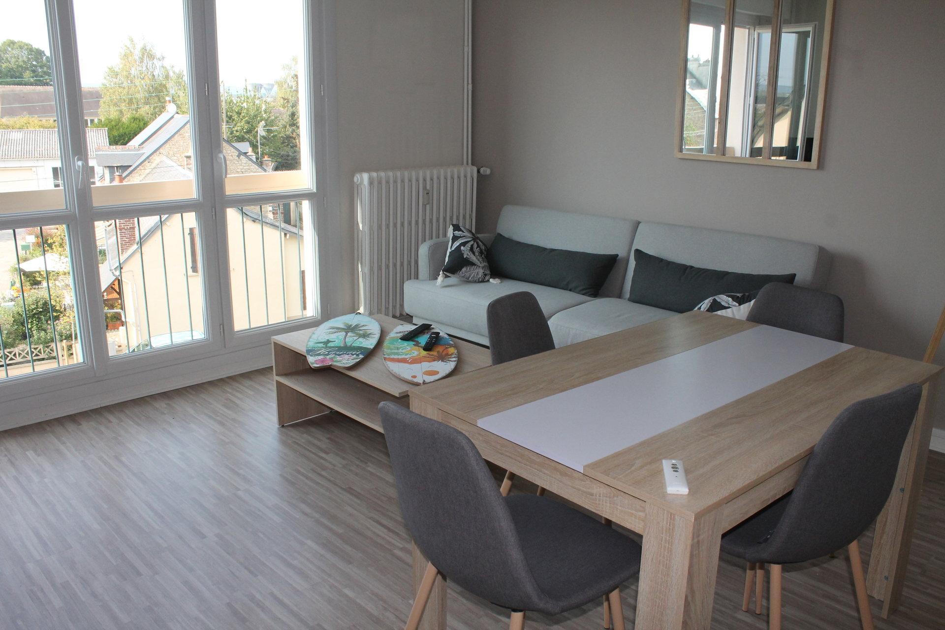Appartement refait a neuf proche centre ville