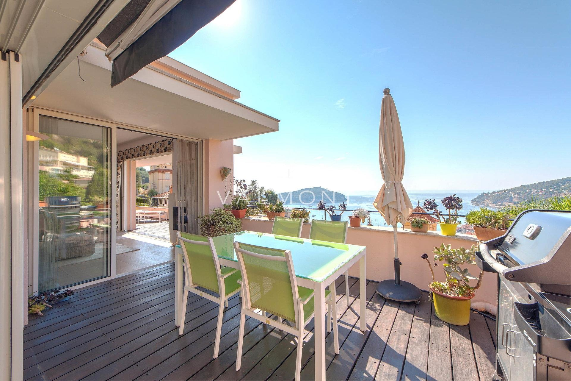 Villa appartement dominating the Bay of Saint Jean Cap Ferrat
