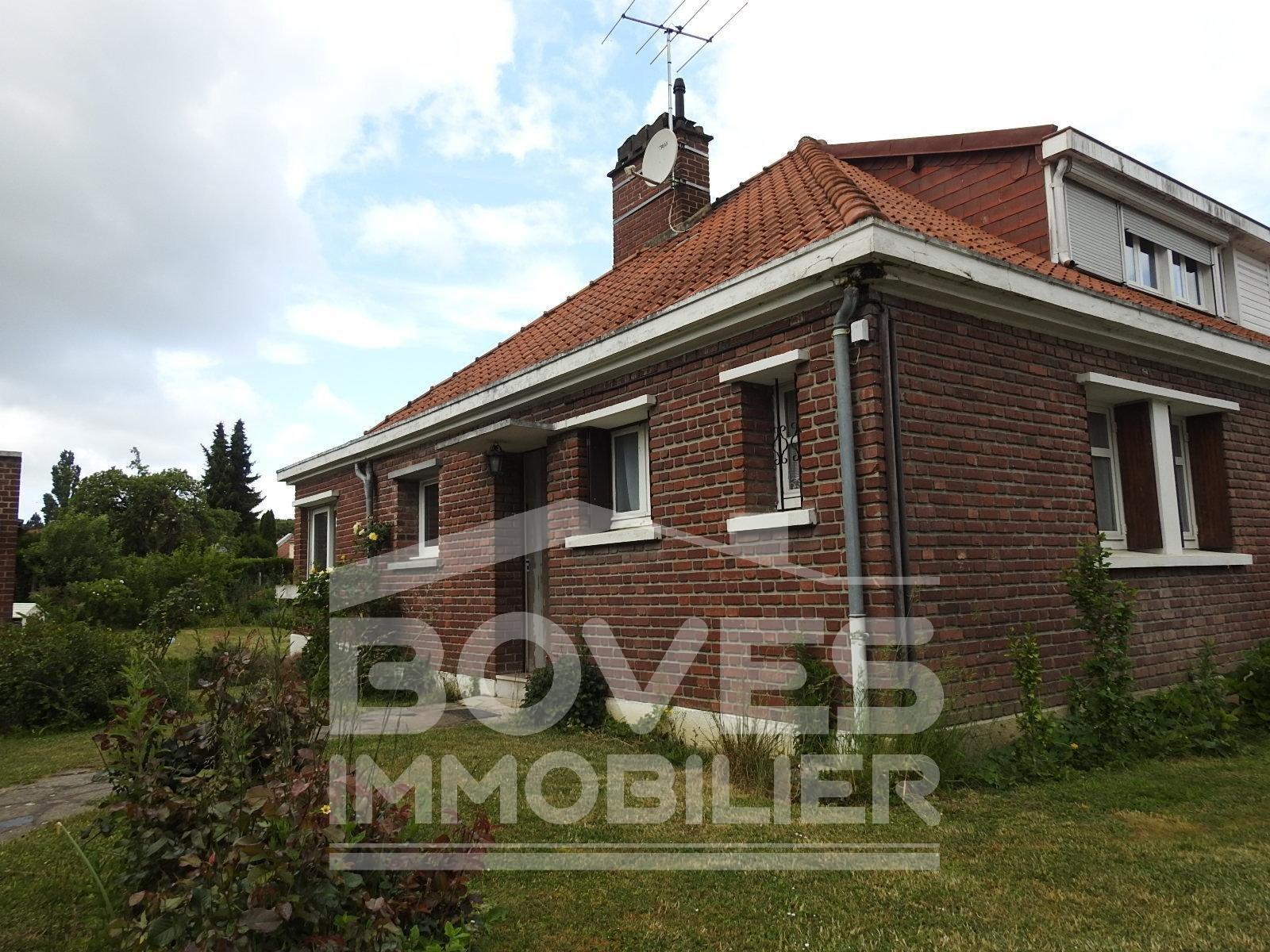Maison en briques T4 CAGNY 80330