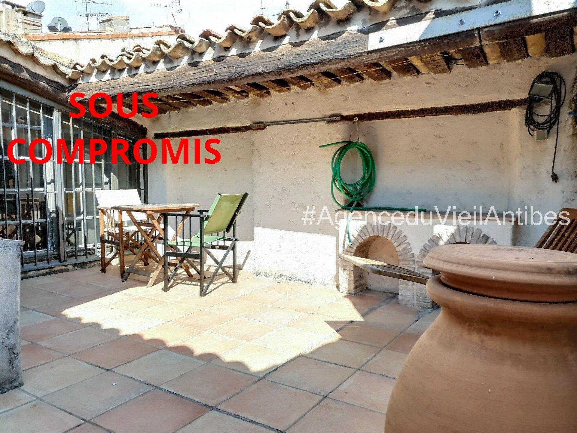 Vieil Antibes Maison 115m2 Terrasse