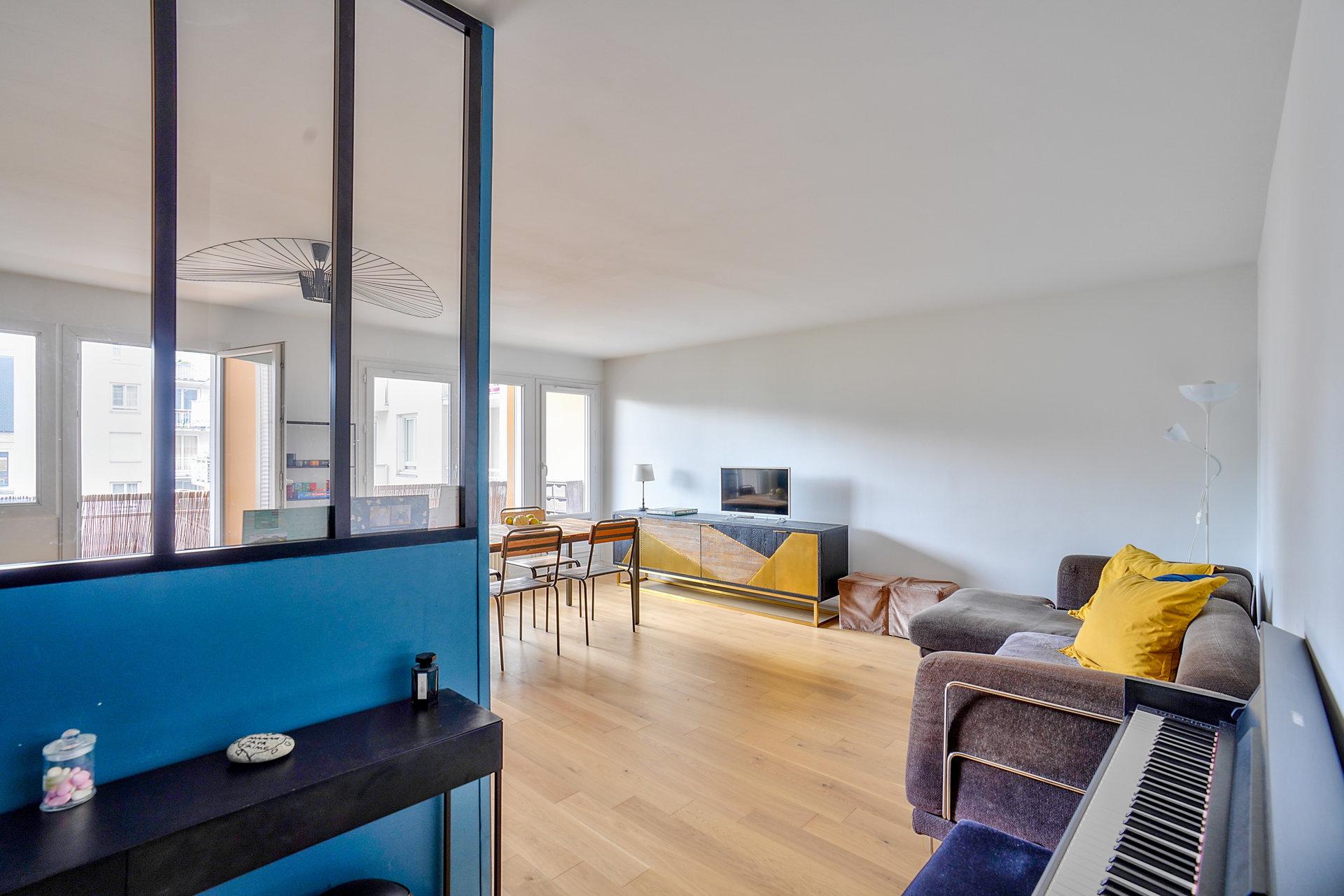 Appartement avec balcons-terrasse et parking