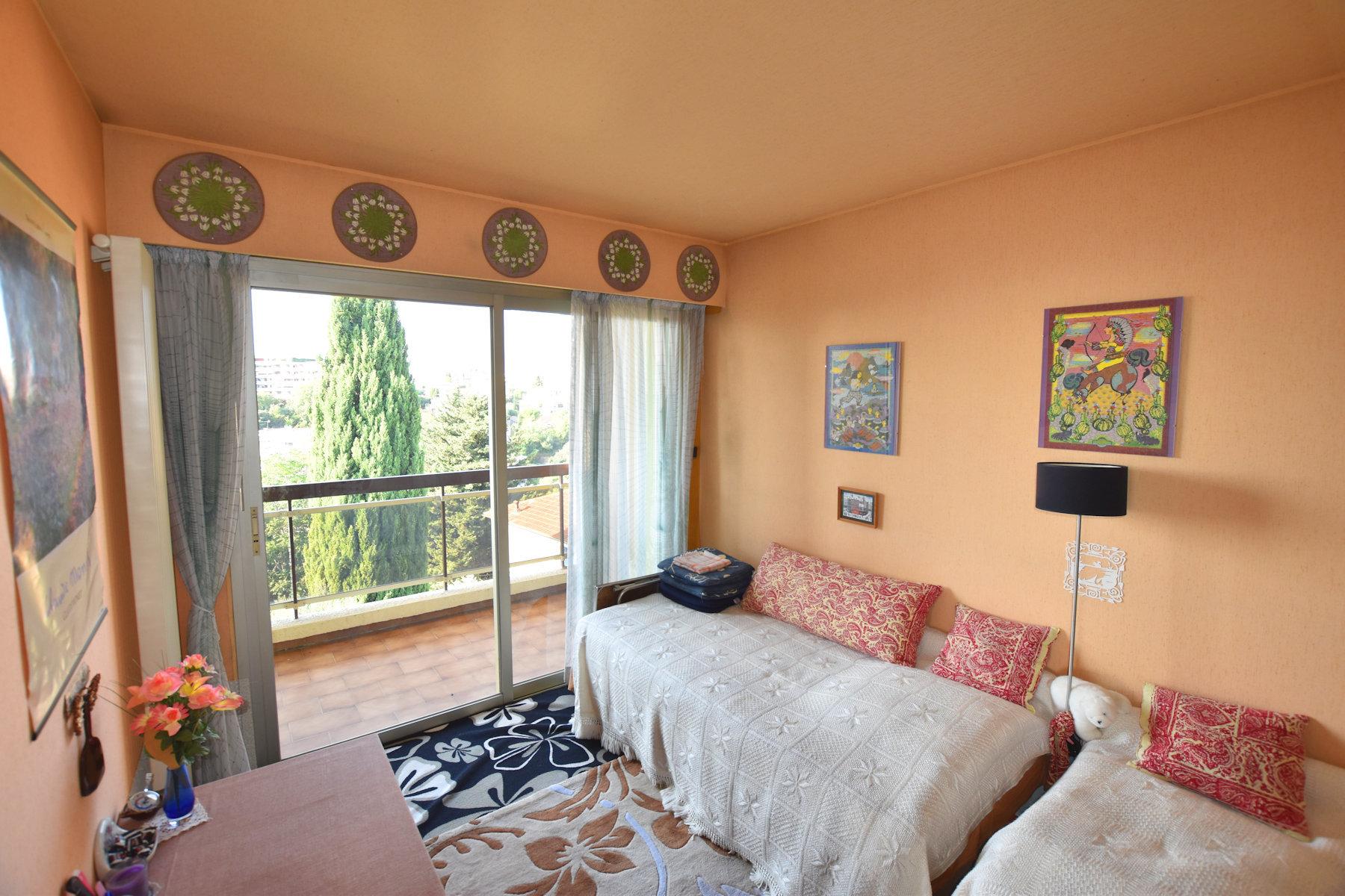 Nice Fabron 3 pièces 89 m² dernier étage vue mer