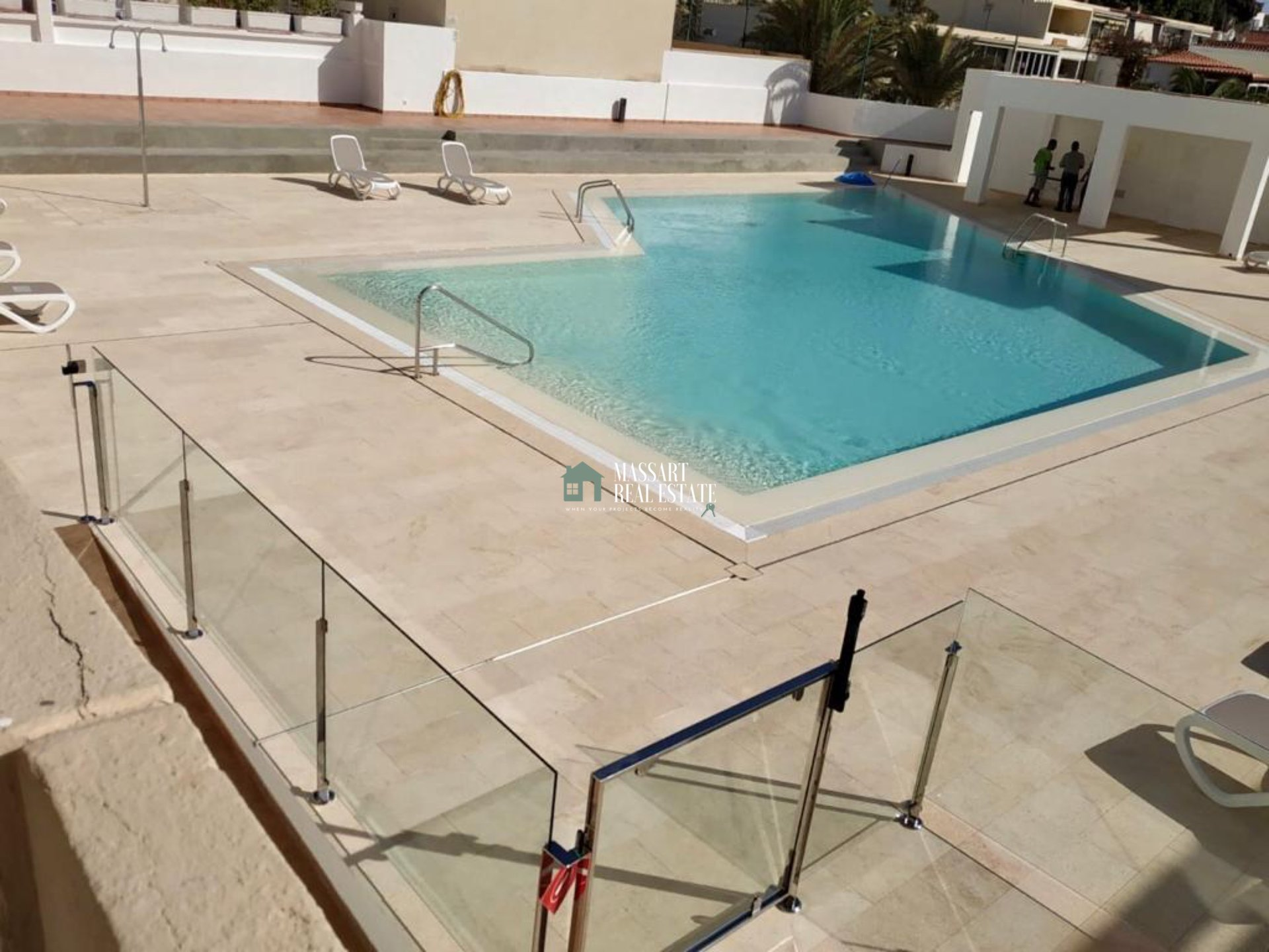 Furnished apartment for rent in the central residential complex Las Piteras (Las Américas).